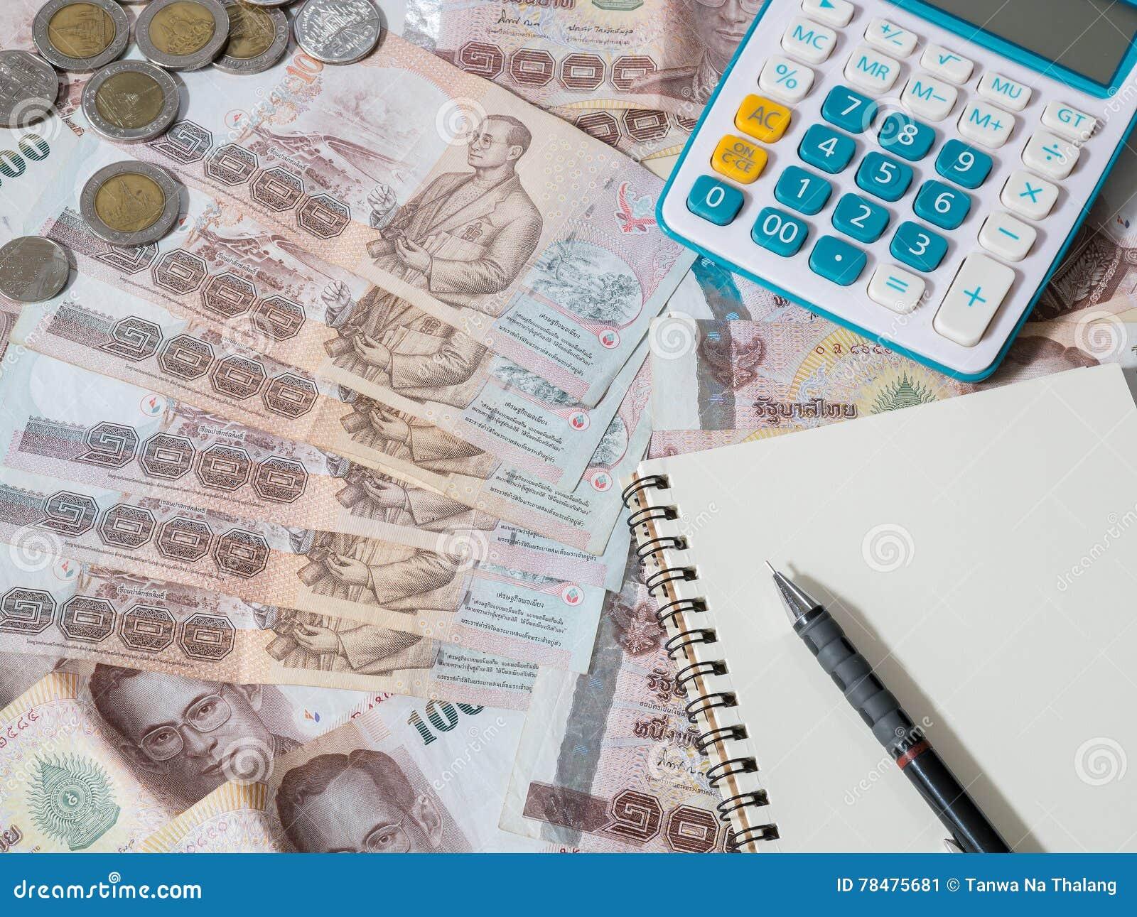 Argent thaïlandais - devise de baht thaïlandais