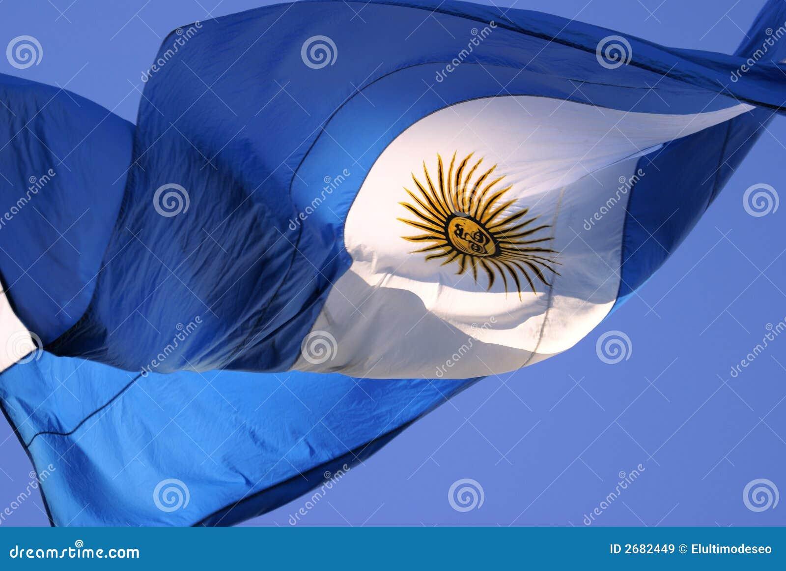 Download Argentina Flag stock image. Image of travel, flag, light - 2682449