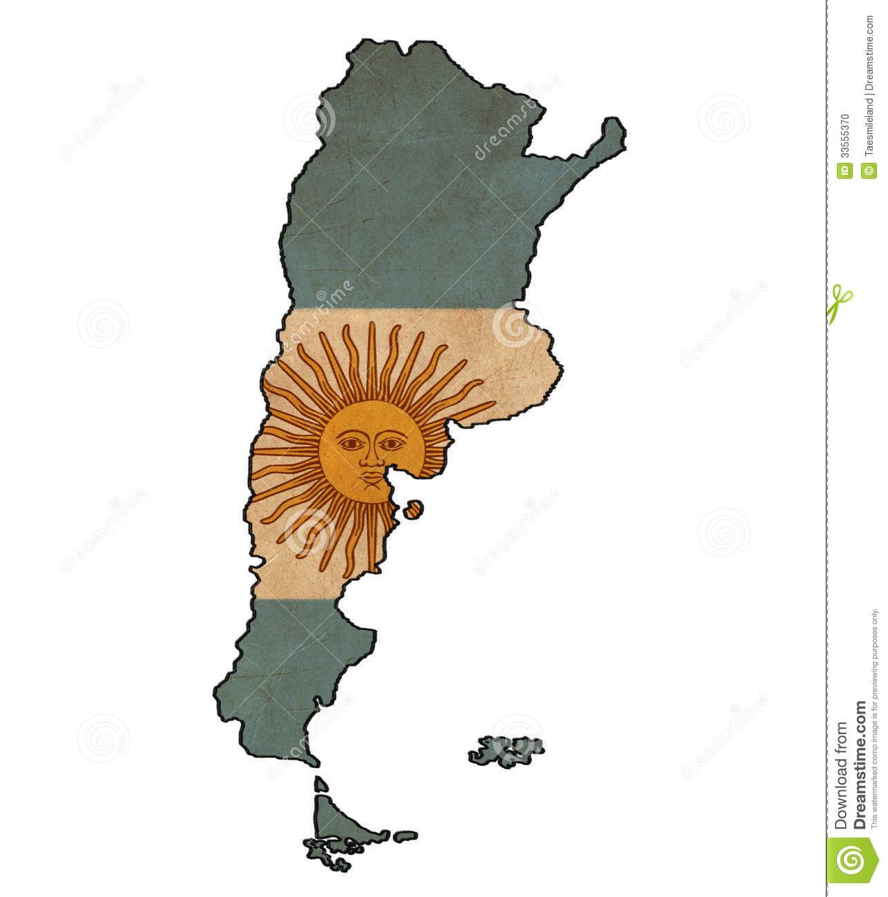 Argentina Map On Argentina Flag Drawing Stock Photo Image - Argentina map download