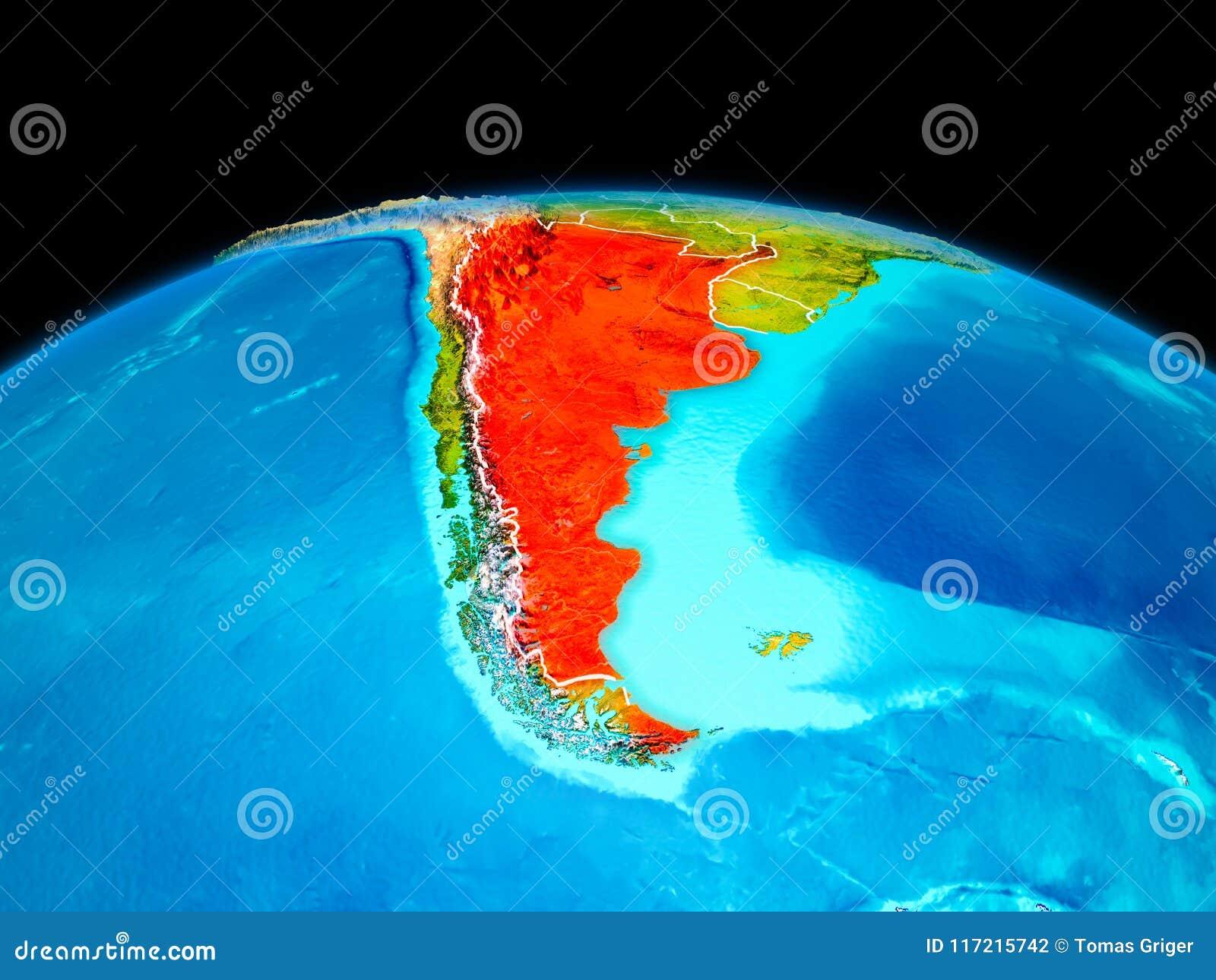 Argentina no vermelho