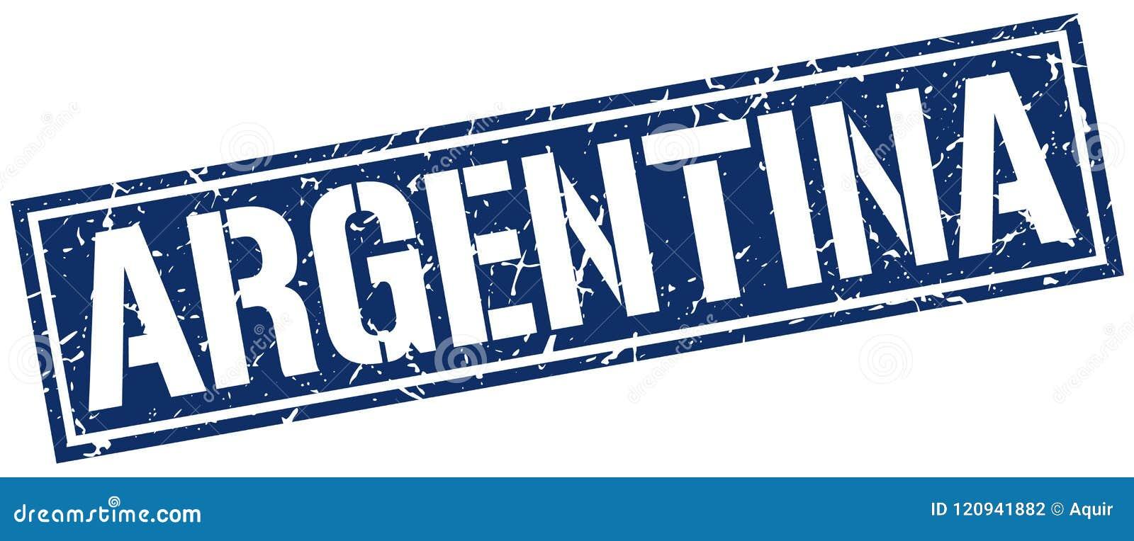 Argentina stämpel