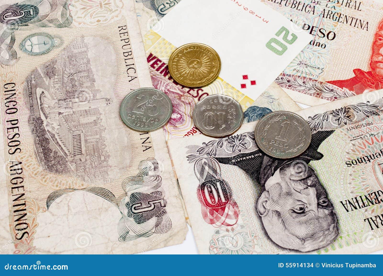 Argentina valuta arkivfoto. Bild av peso, pengar, finans - 55914134