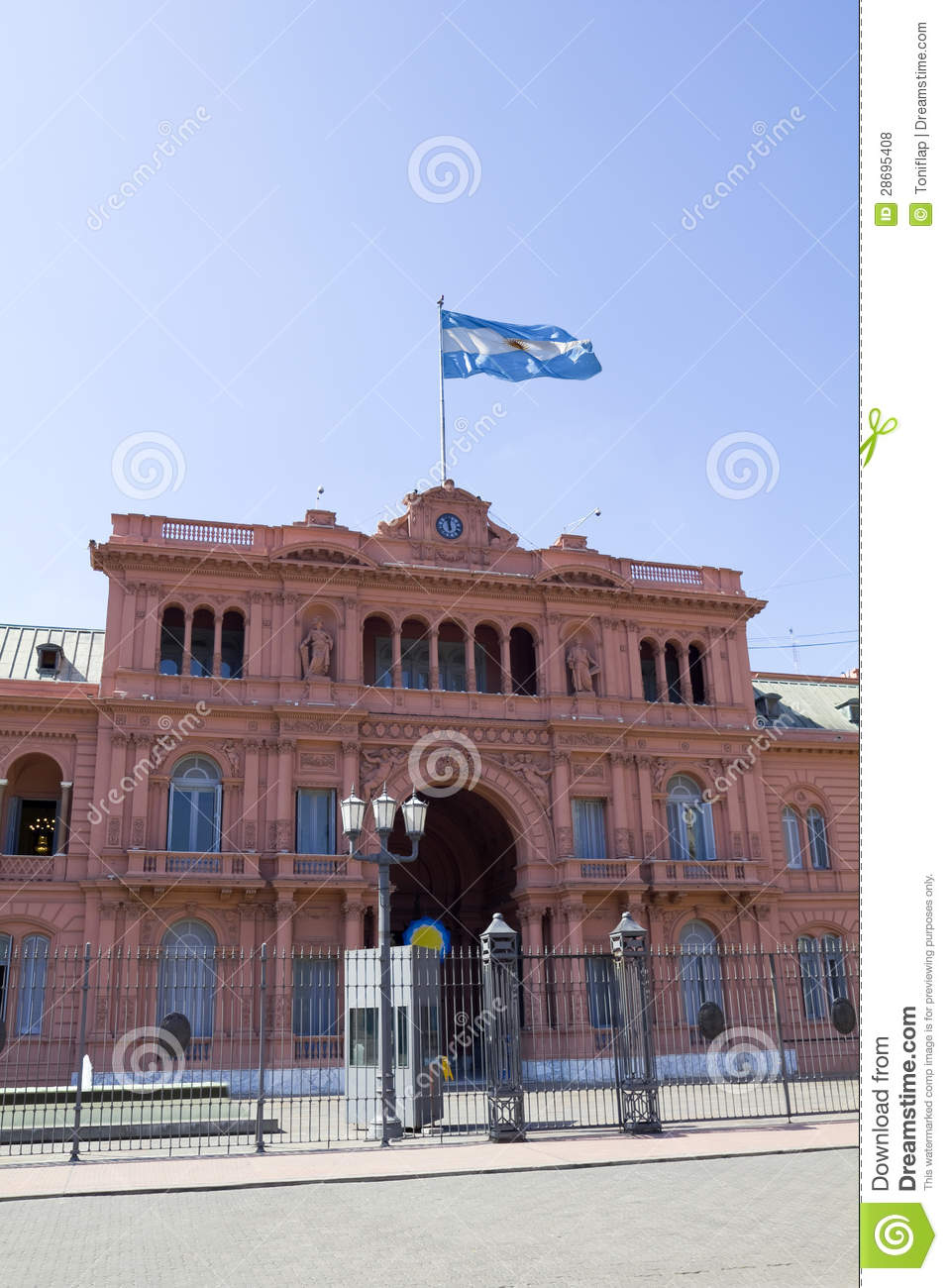 Download Argentine Girl Wallpaper For Mac: Argentine Government House Stock Photo. Image Of City