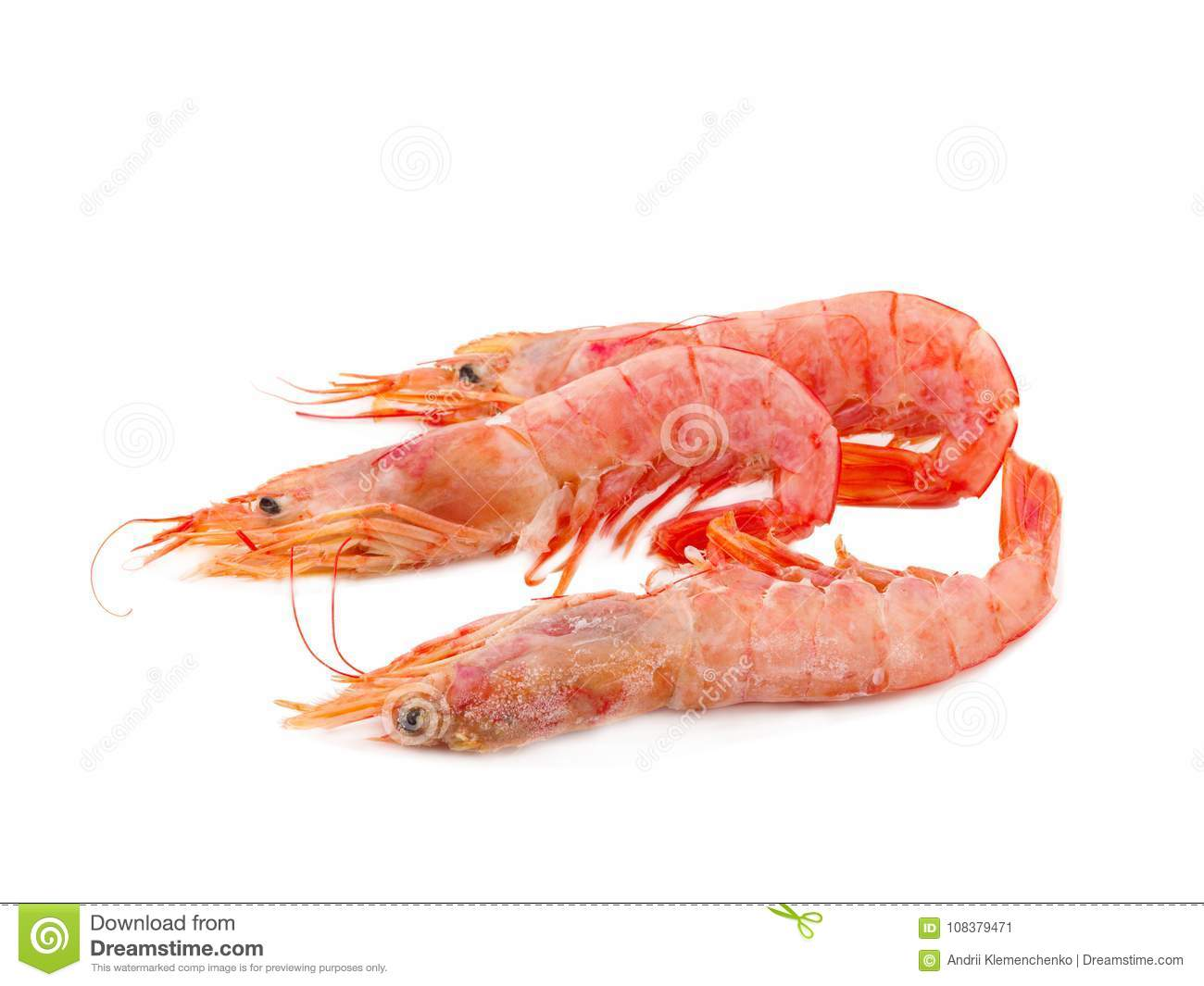 Argentine Red Shrimp Stock Image Image Of Lemon Food 108379471