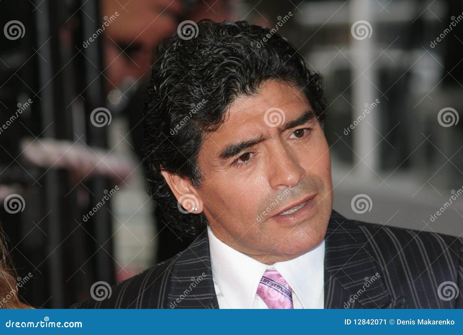 Argentinean Football Legend Diego Maradona Editorial Photo ...