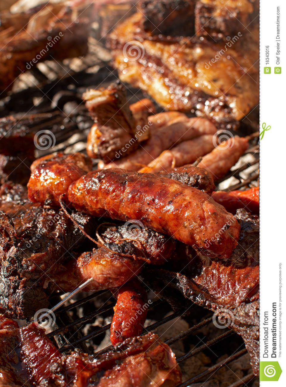 Argentinian barbecue royalty free stock image image - Barbecue argentin ...