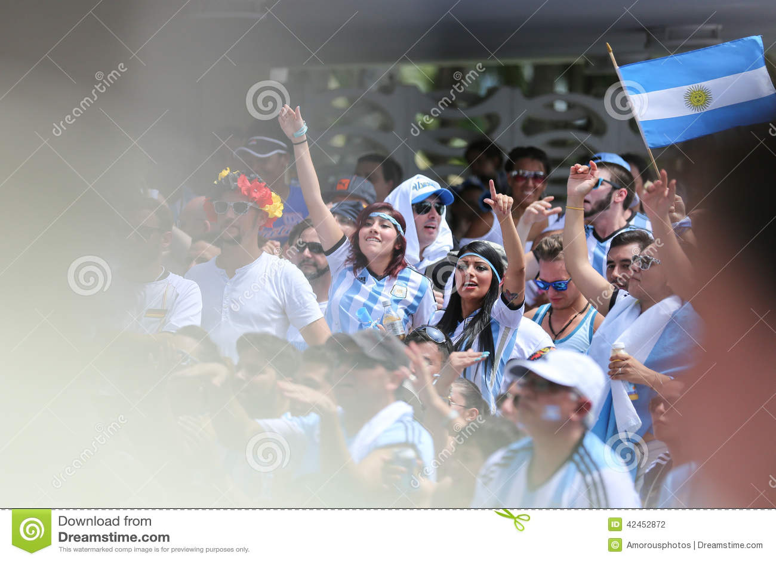 Argentinische Fußballfane