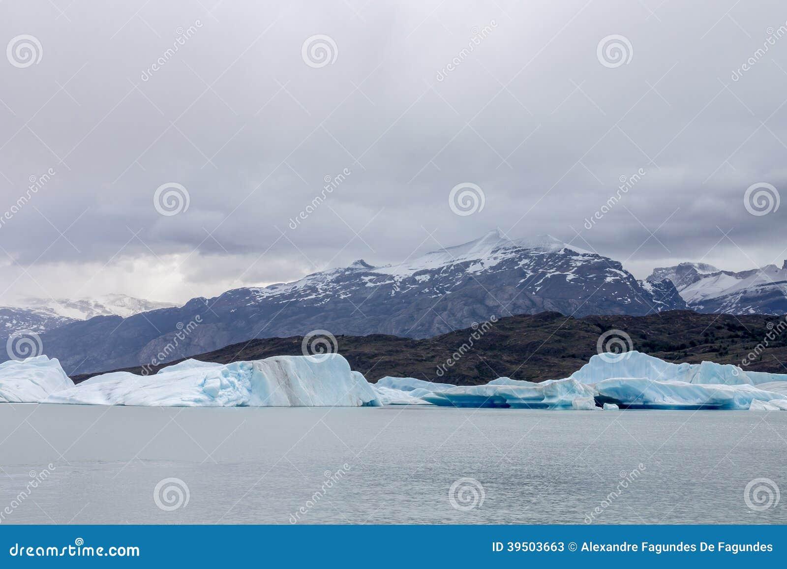 Argentino Lake Ice Block
