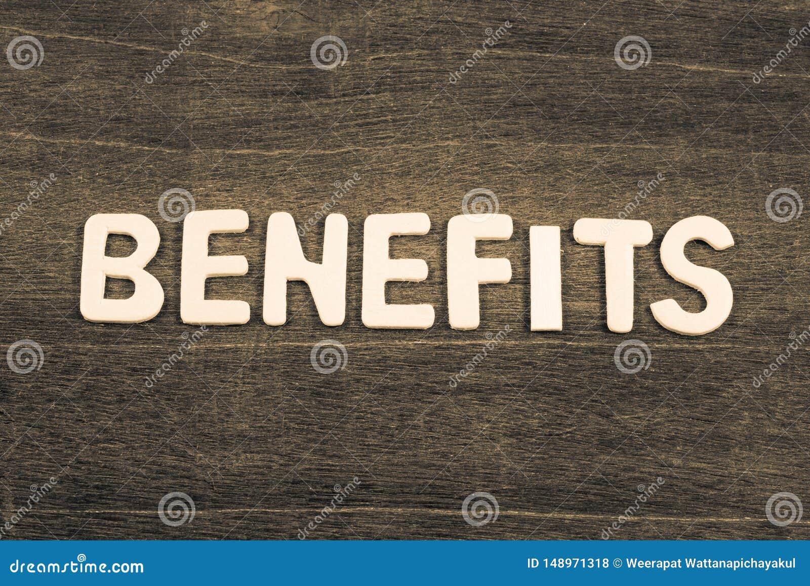 Argomento dei benefici