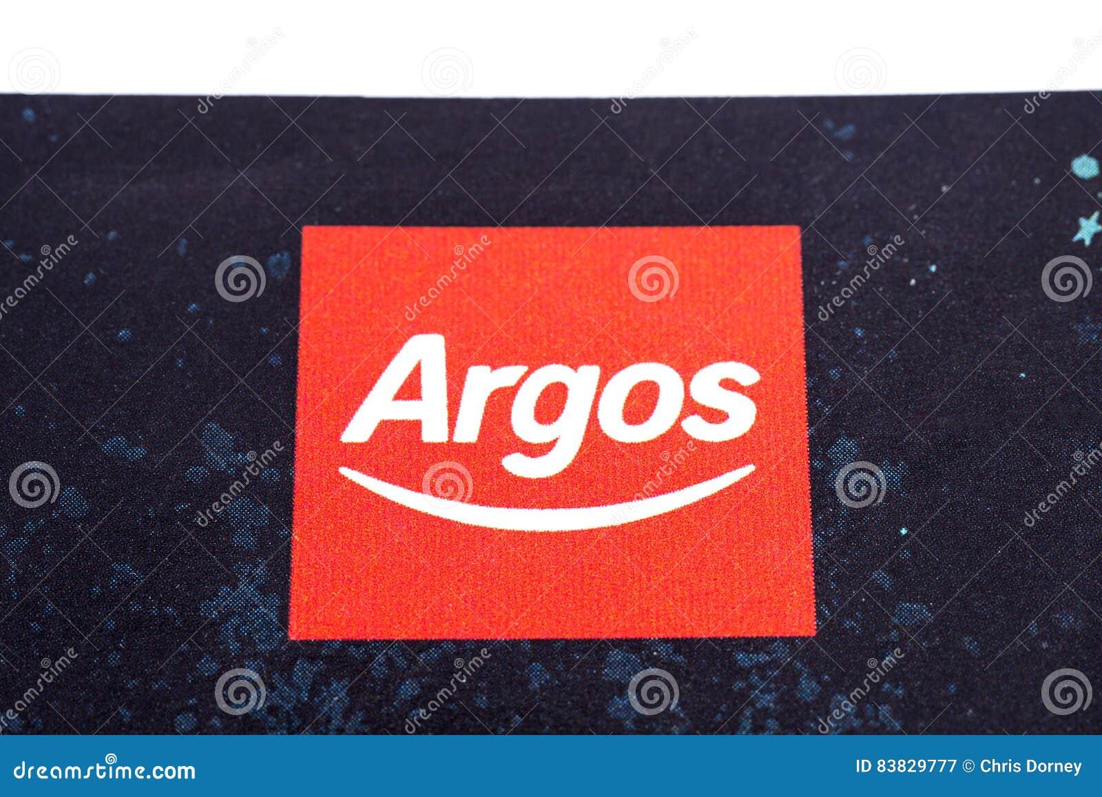 Argos Company Logo editorial photography  Image of leaflet