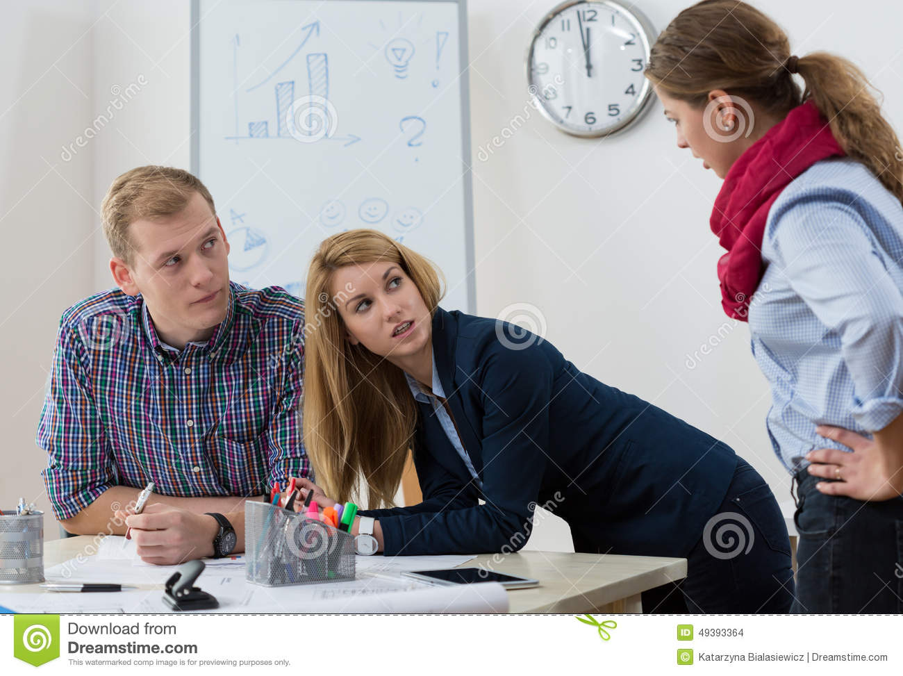 Argument at workplace