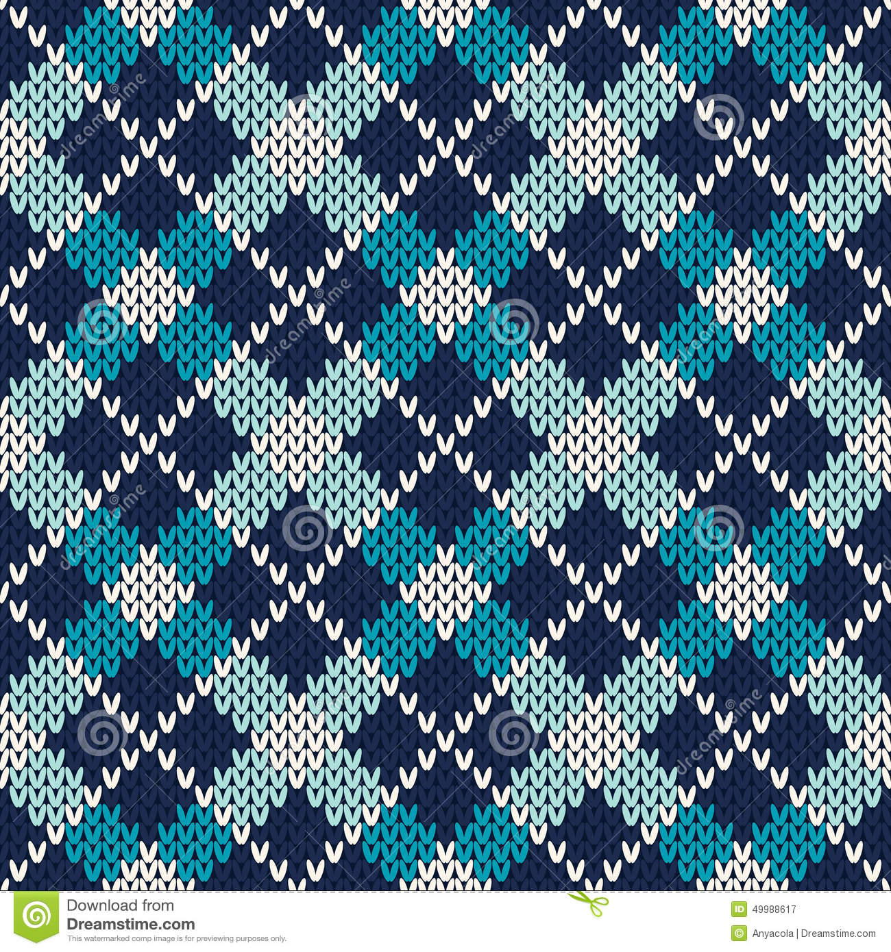 Knit Argyle Pattern : Argyle Knitted Pattern. Seamless Vector Background Stock Vector - Image: 4998...