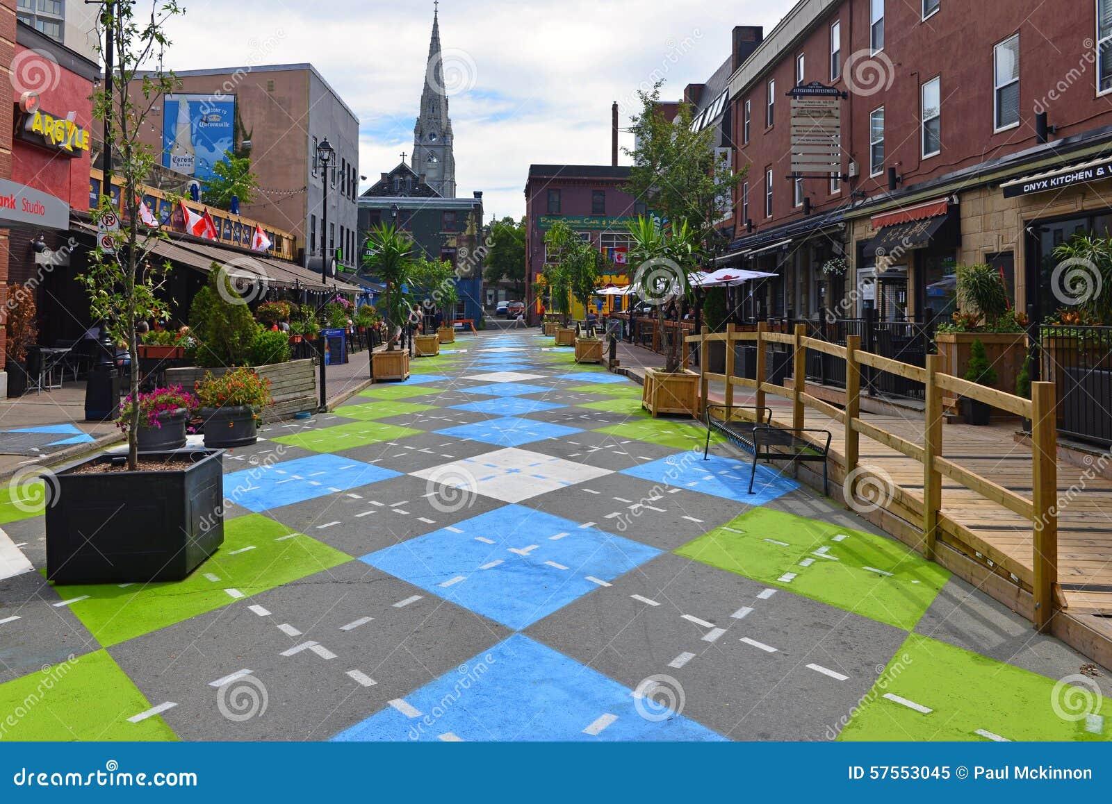 Argyle Street in Halifax