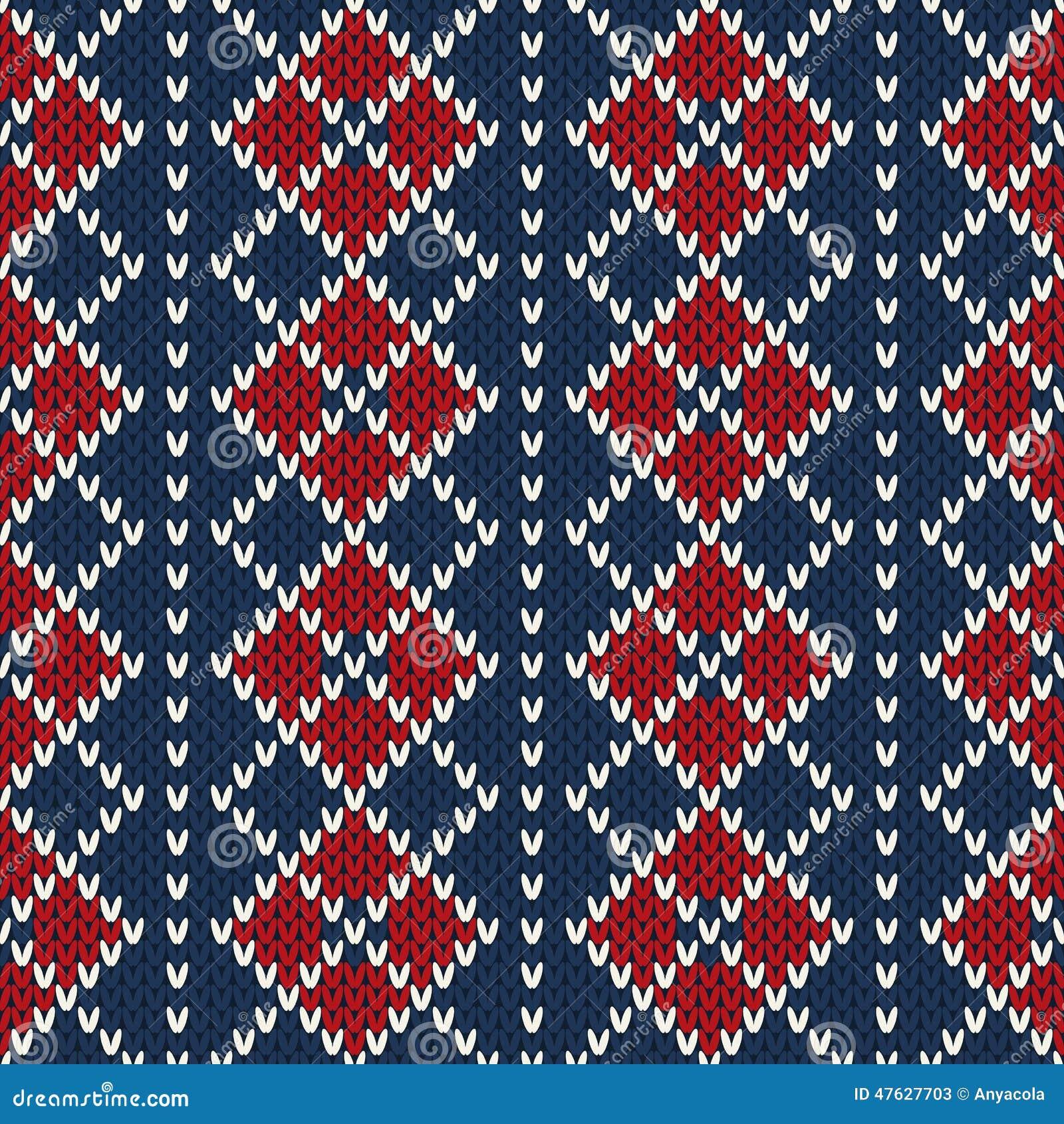 99f278f73bddc Argyle Sweater Design. Seamless Pattern Stock Vector - Illustration ...