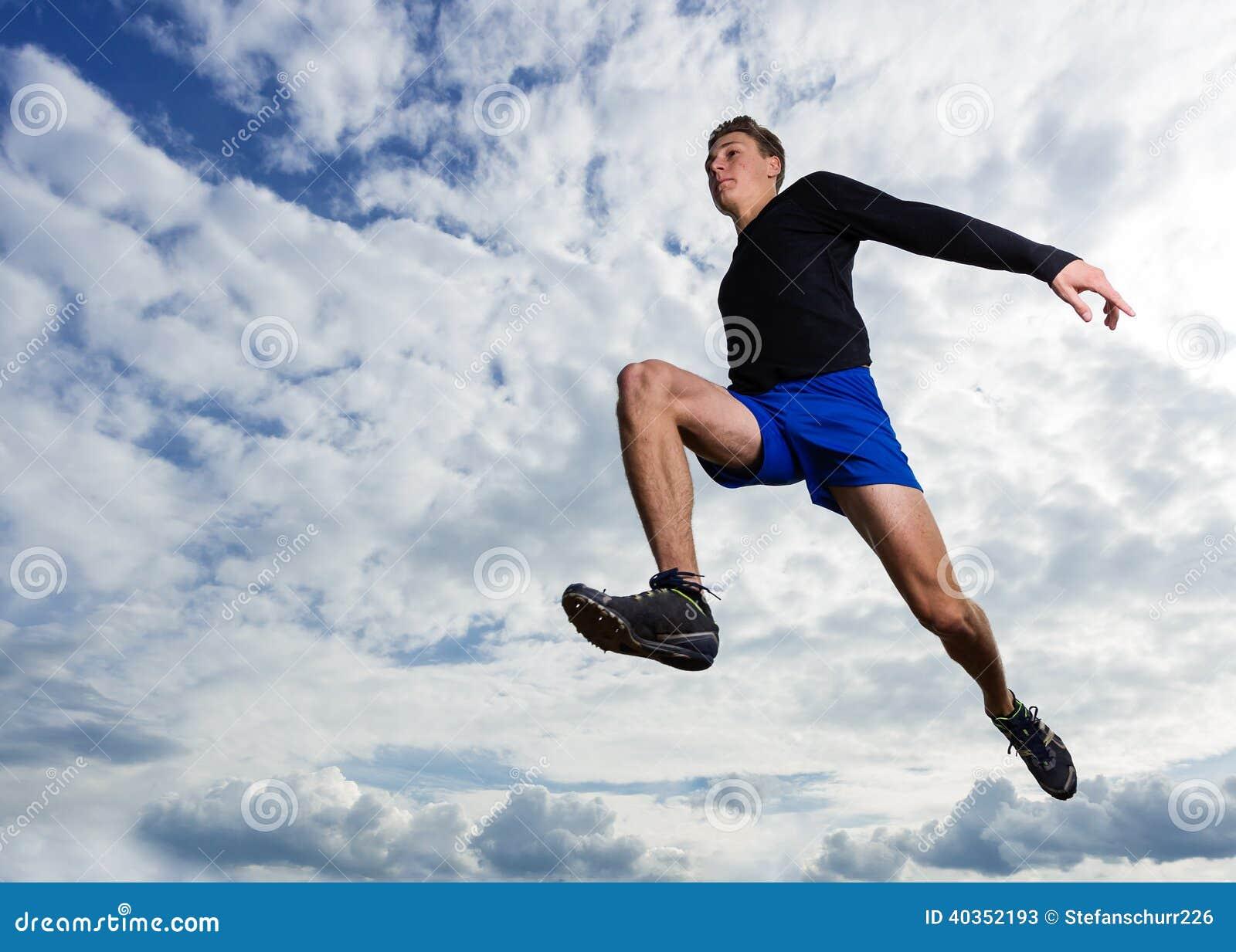 Long jump track