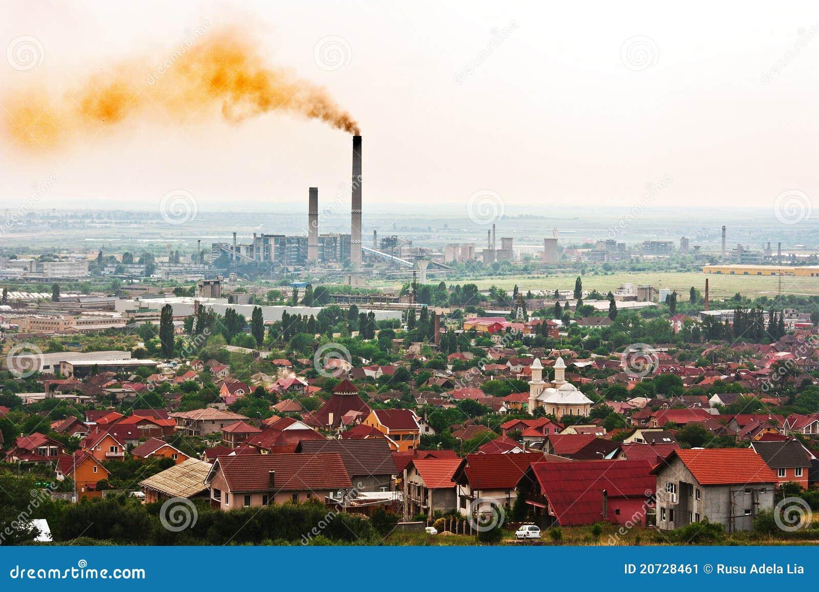 Aria tossica sopra la città
