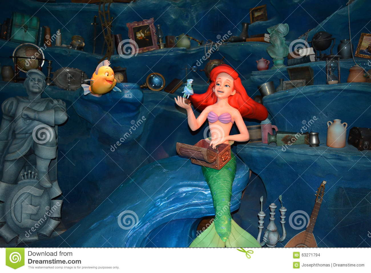 Ariel The Little Merma...