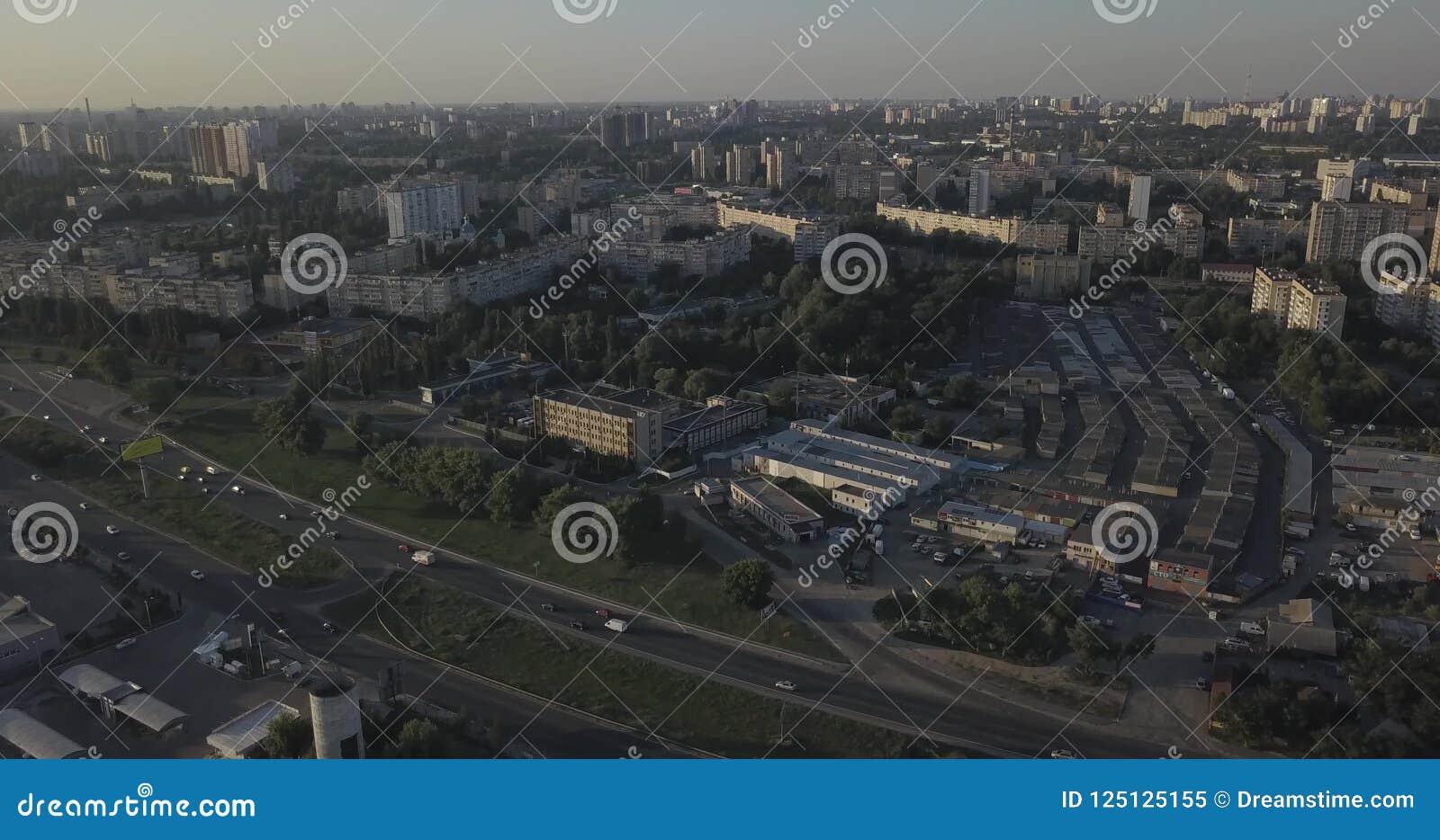 Ariel view of houses in Ukraine 4k 4096 x 2160 pixels  Building, cityscape