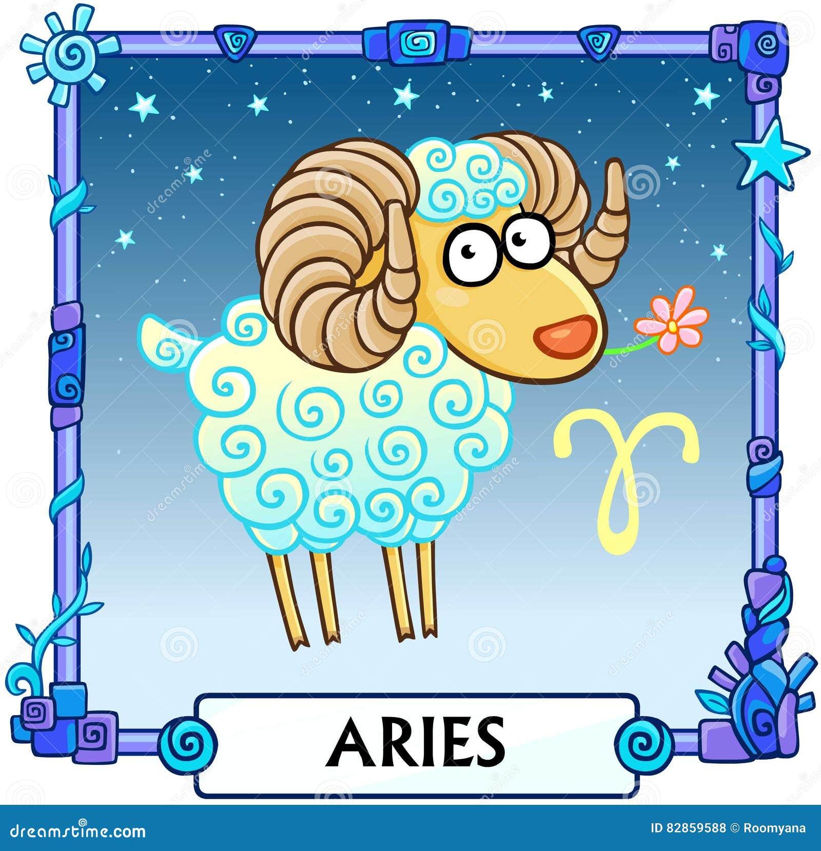 Aries de la muestra del zodiaco