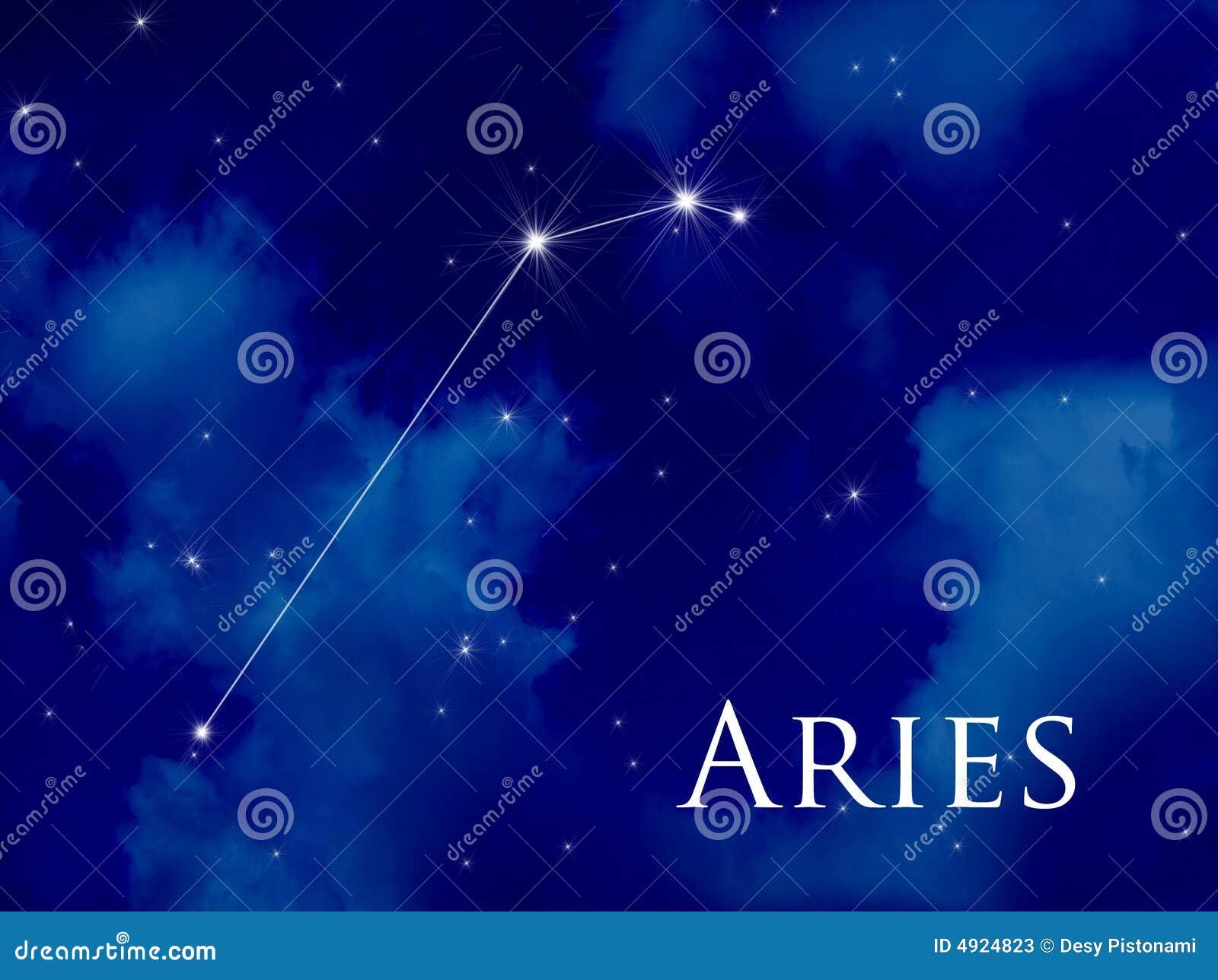 Aries della costellazione