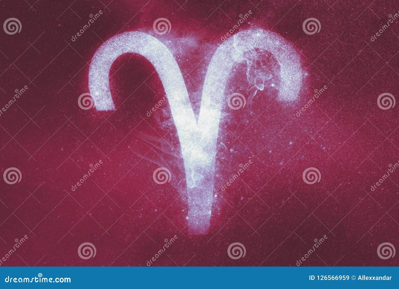 Aries Zodiac Sign abrégez le fond