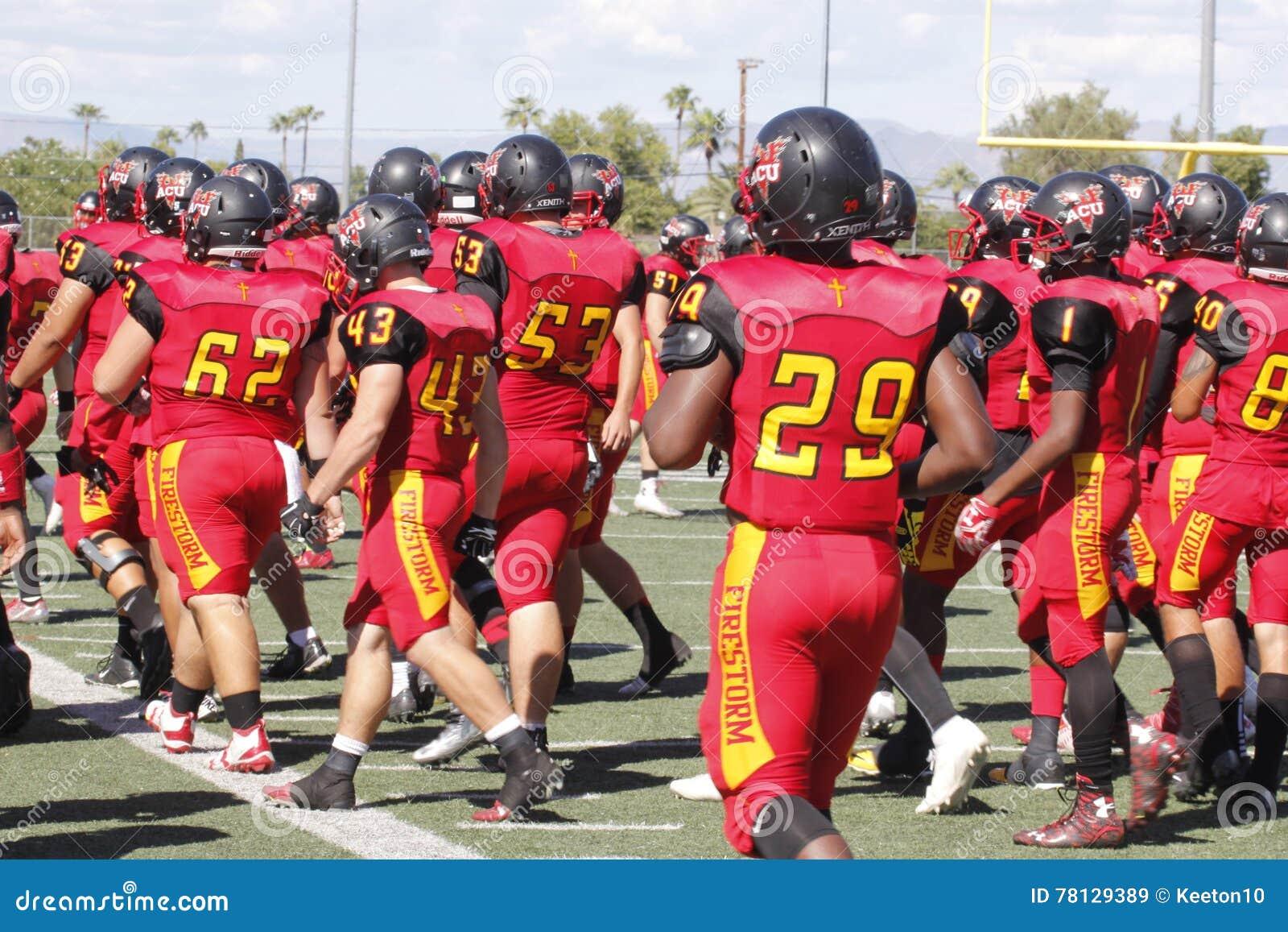 Arizona Christian University Football >> Arizona Christian University Football Editorial Stock Image