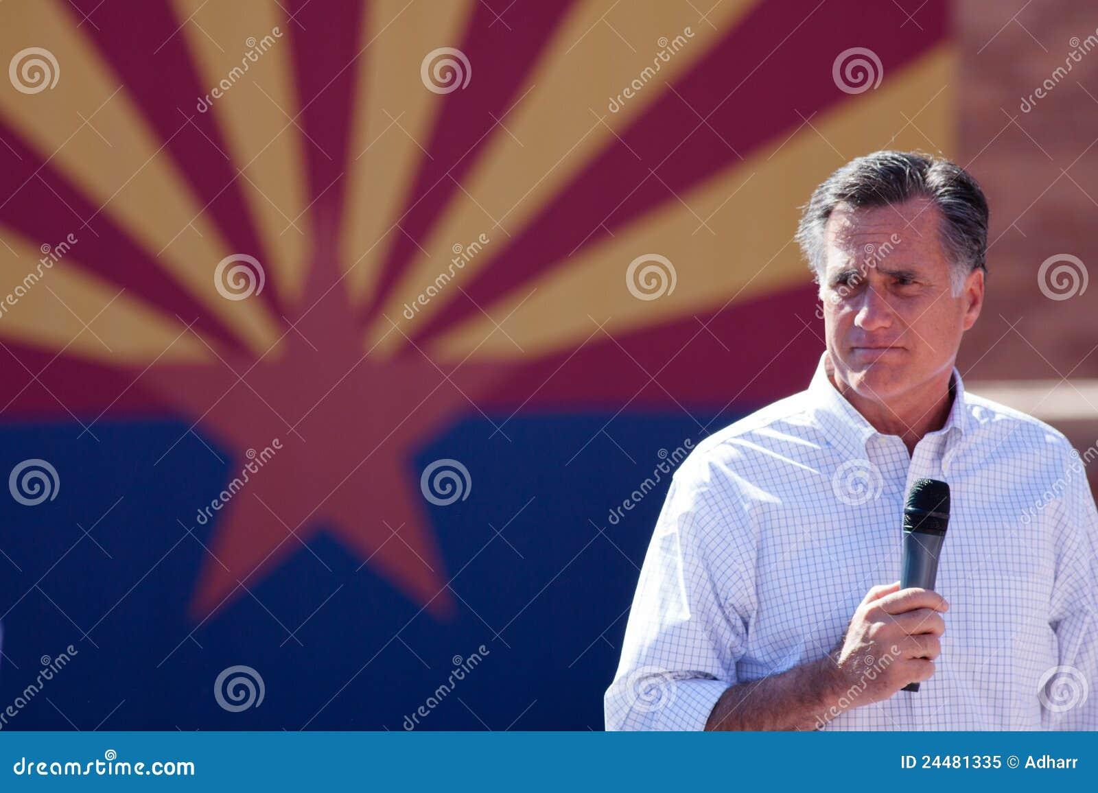 Arizona delta i en kampanj hispanicskardaromney