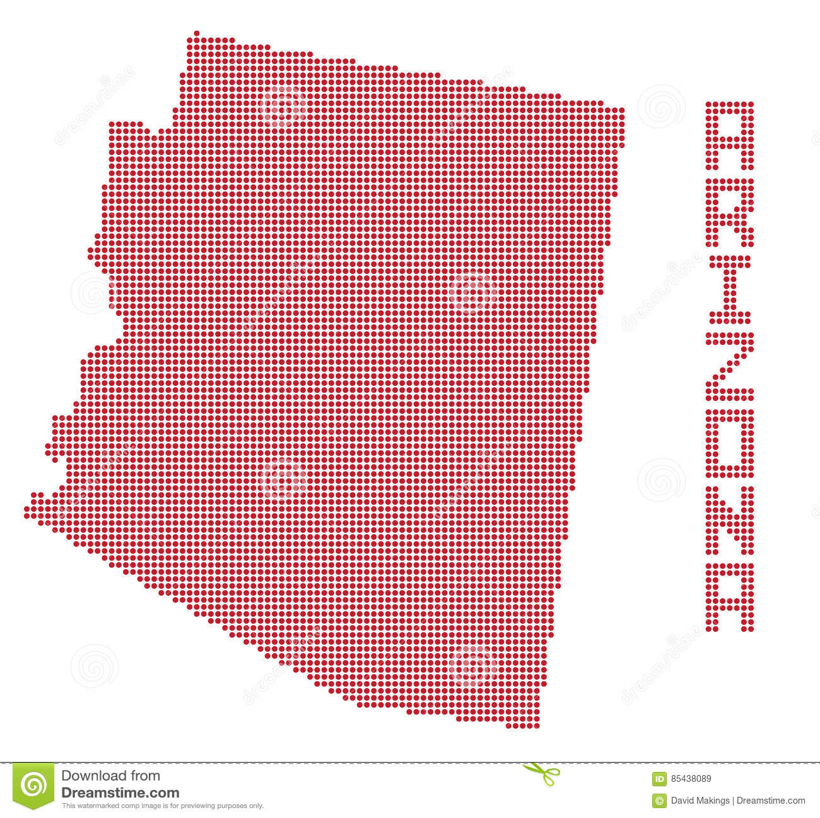 Arizona Dot Map