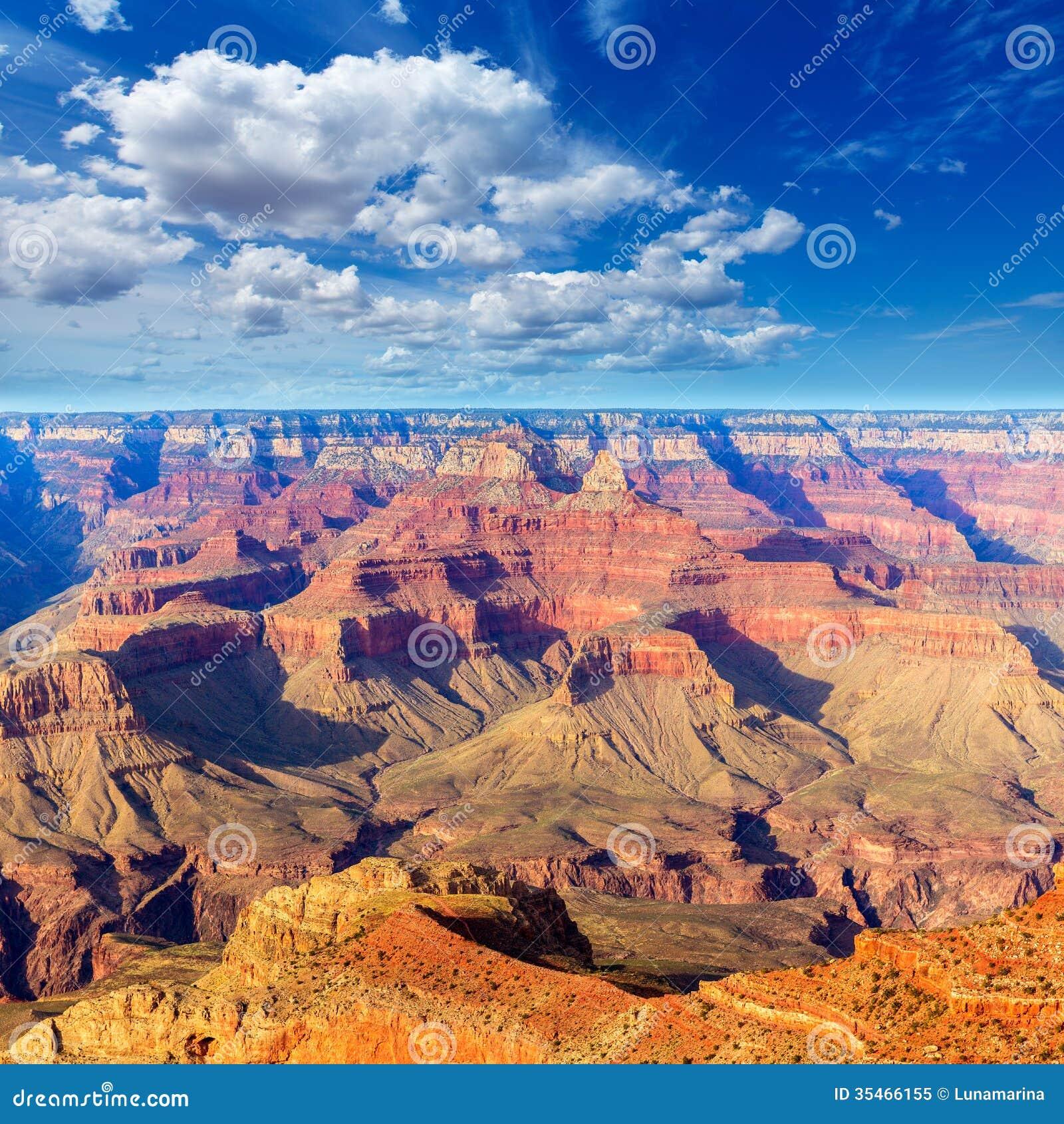 Arizona Grand Canyon National Park Mother Point Us Stock
