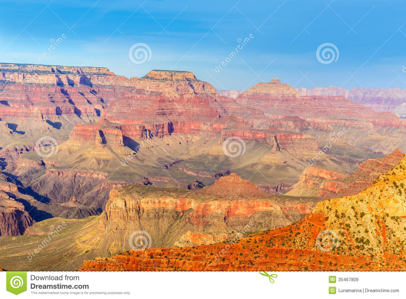 Arizona Grand Canyon National Park Mother Point US Royalty Free Stock ...