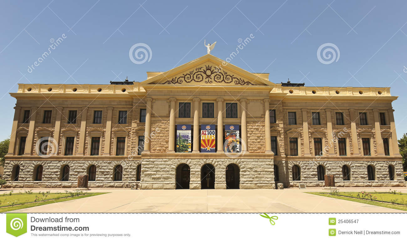 History Of Arizona State Capitol Building