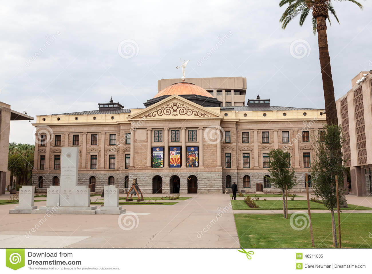Arizona state house and capitol building editorial image for Building a house in arizona