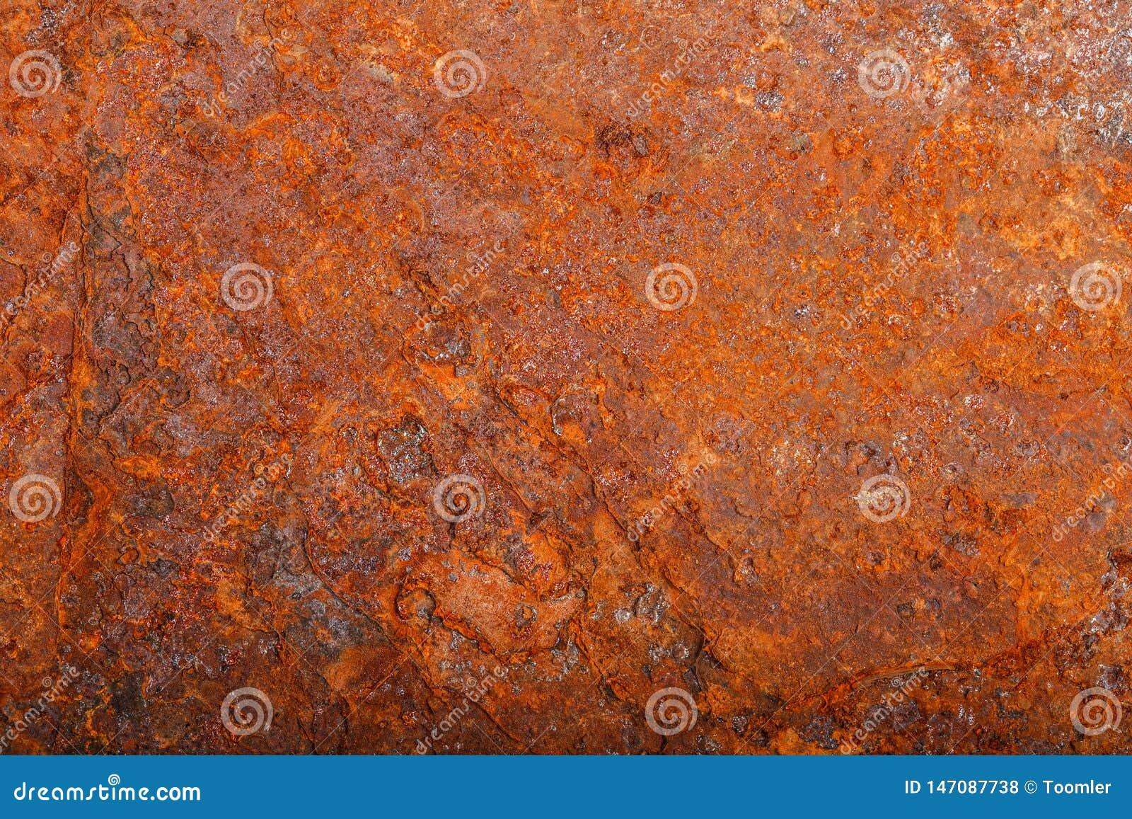 Ark av rostig metall oxiderad bakgrund