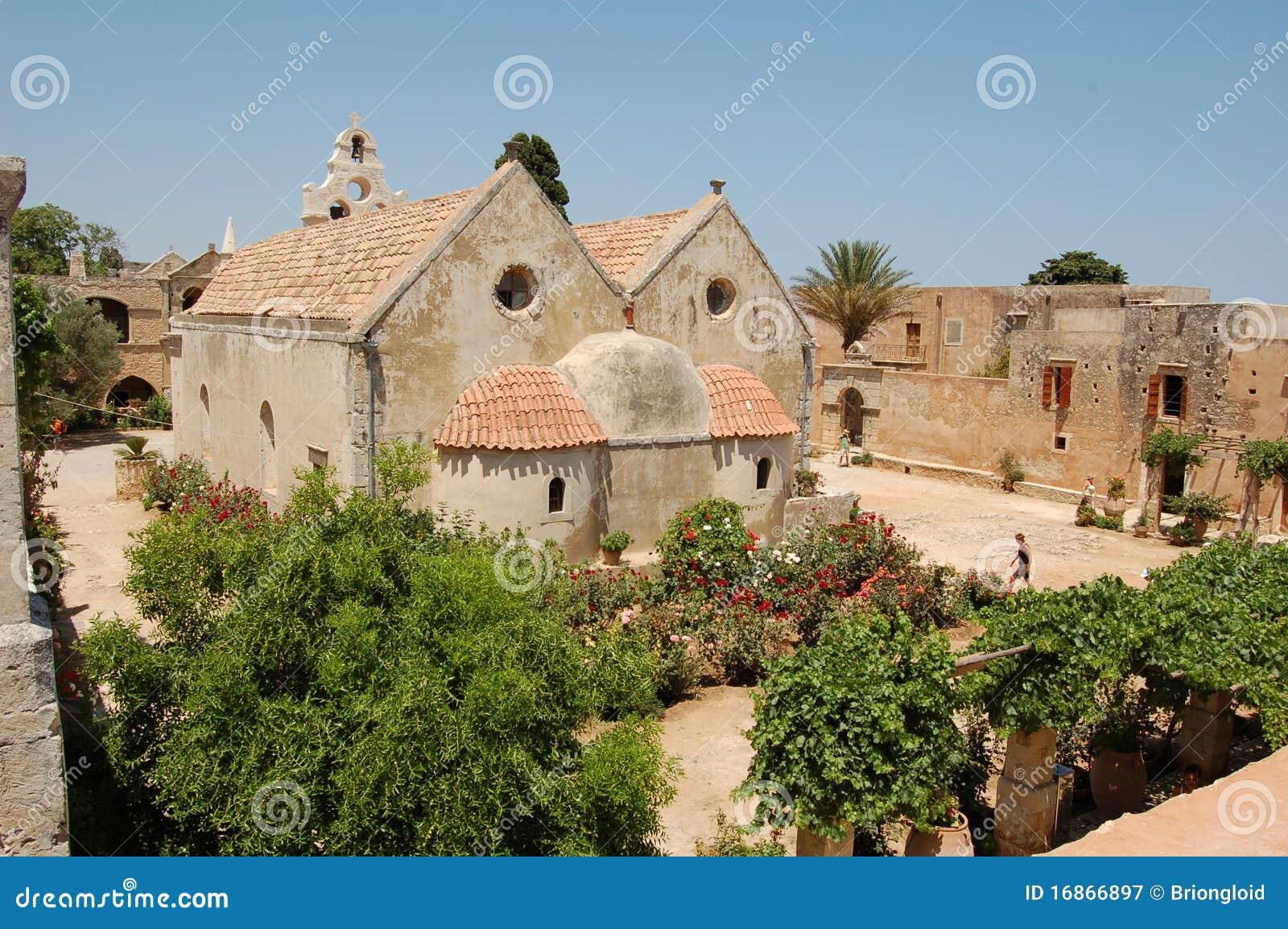 Arkadi Monastary, Crete 7