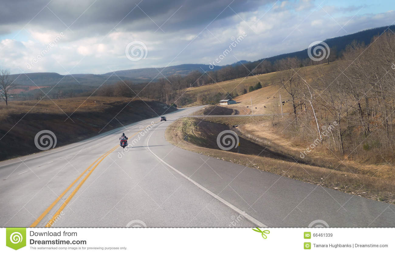 Arkansas del noroeste Ozark Mountain Highway