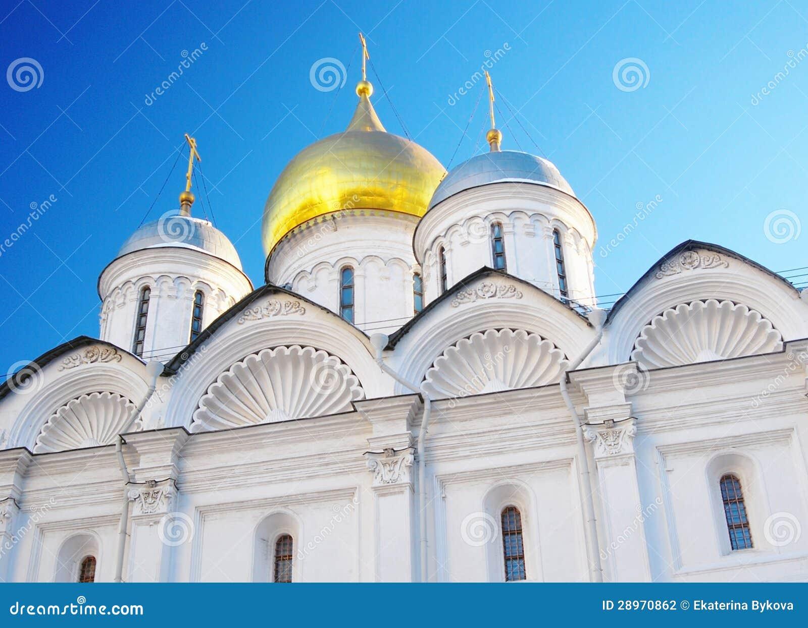 Arkhangels  katedra w Moskwa Kremlin.