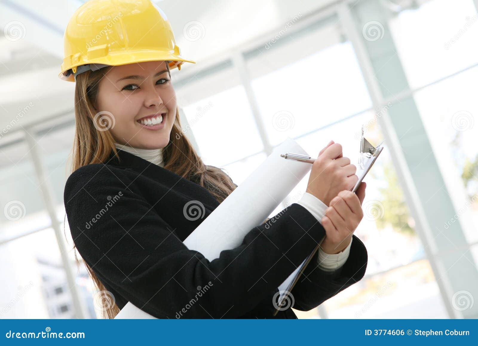 Arkitektkvinna
