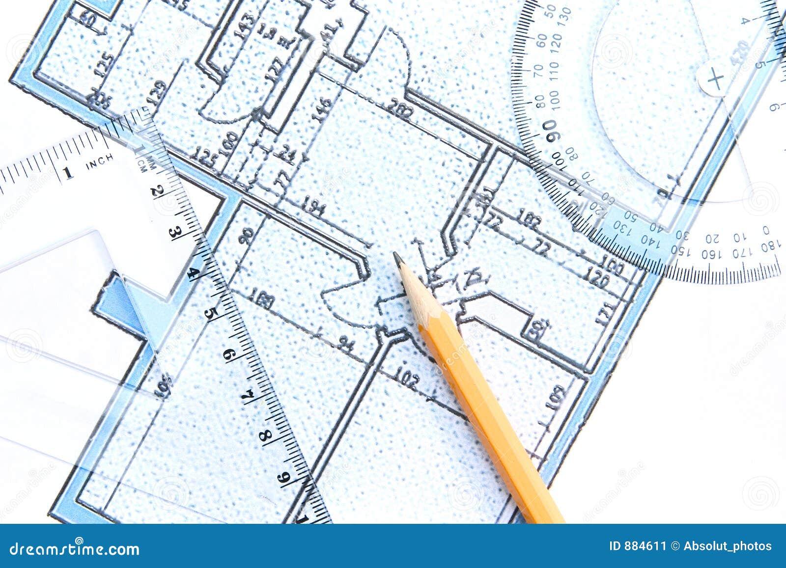 Arkitektonisk ritning