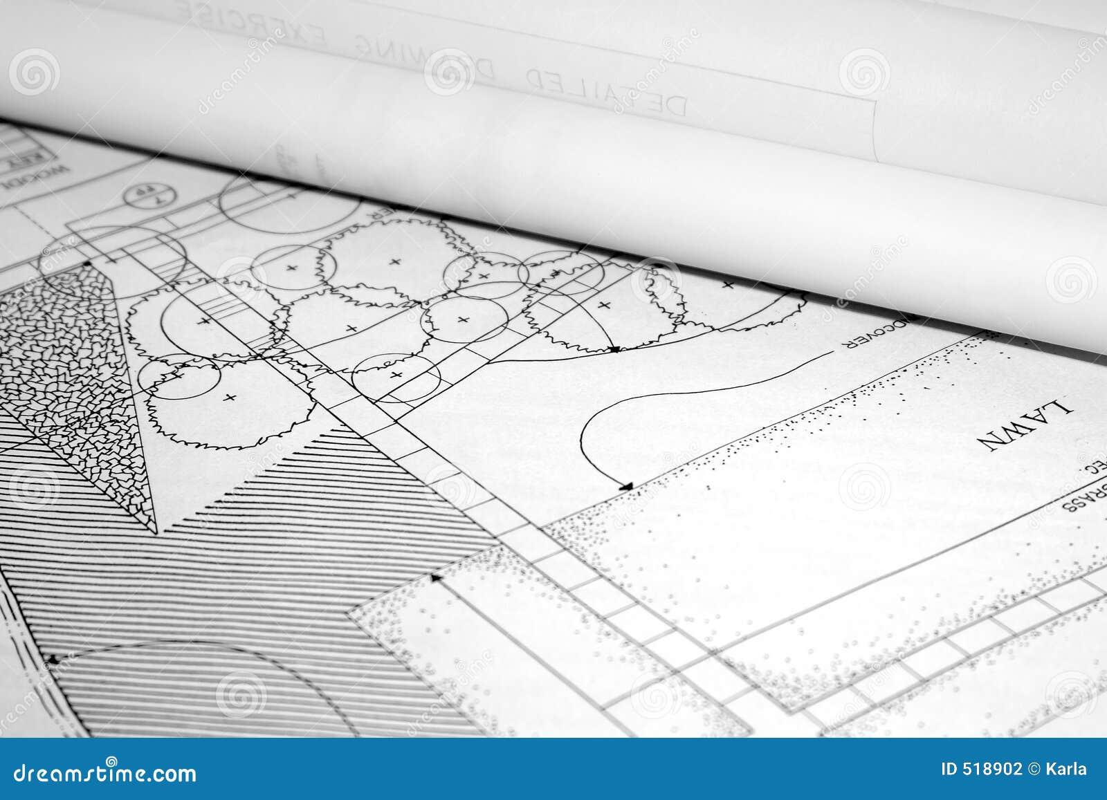 Arkitektoniskt liggandeplan