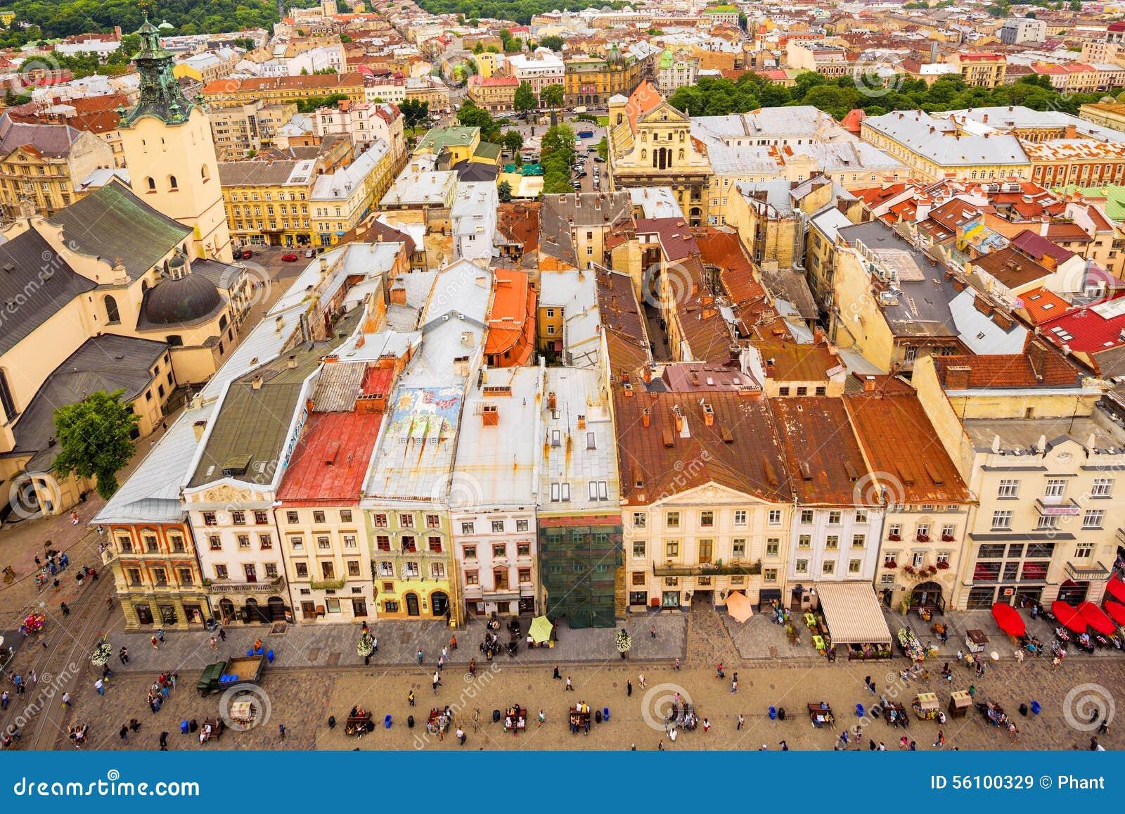 Arkitektur av Lviv ukraine