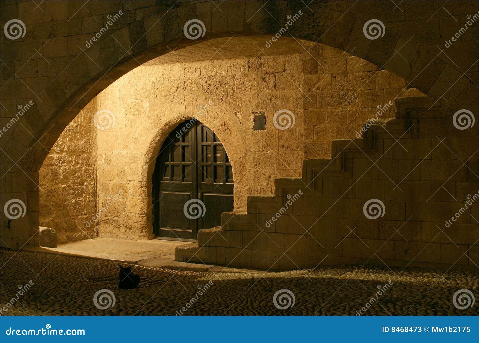 Arkitekturelement greece medeltida rhodes