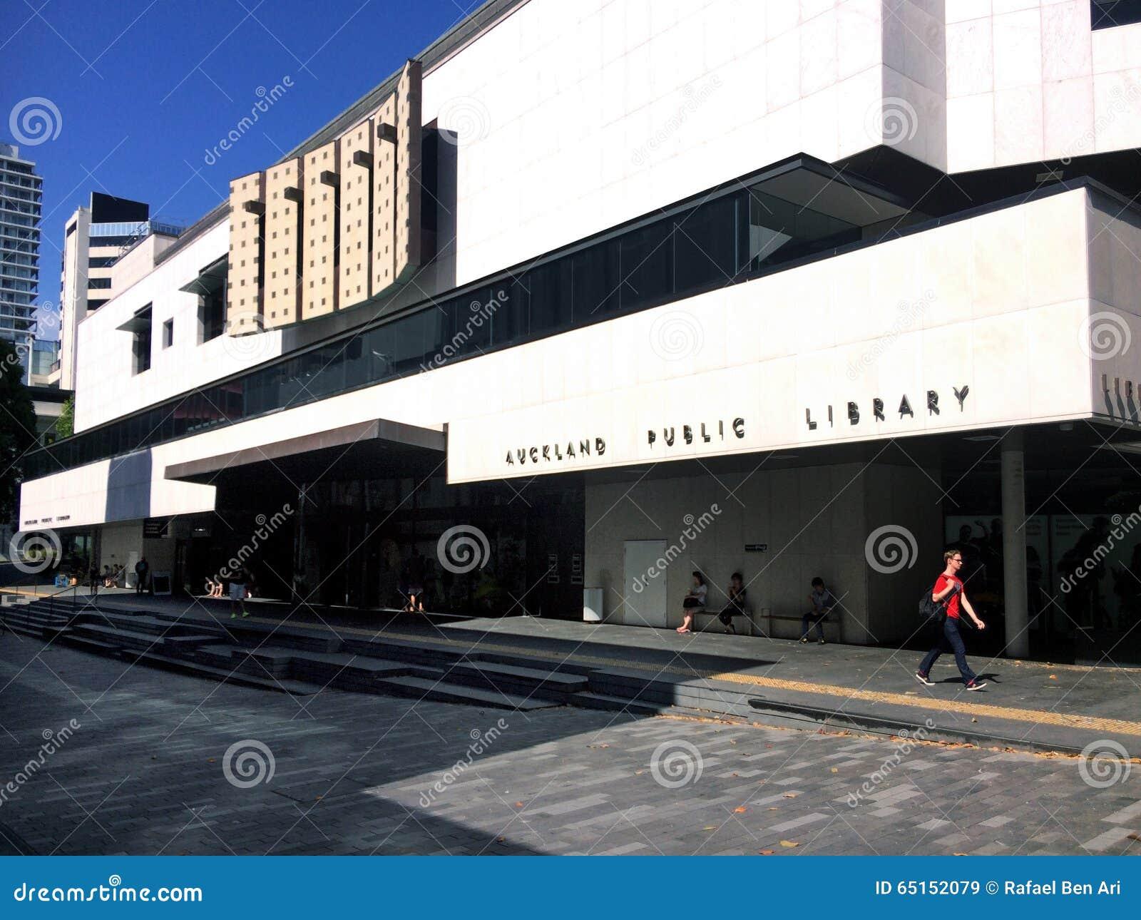 Arkiv för central stad i Auckland CBD - Nya Zeeland