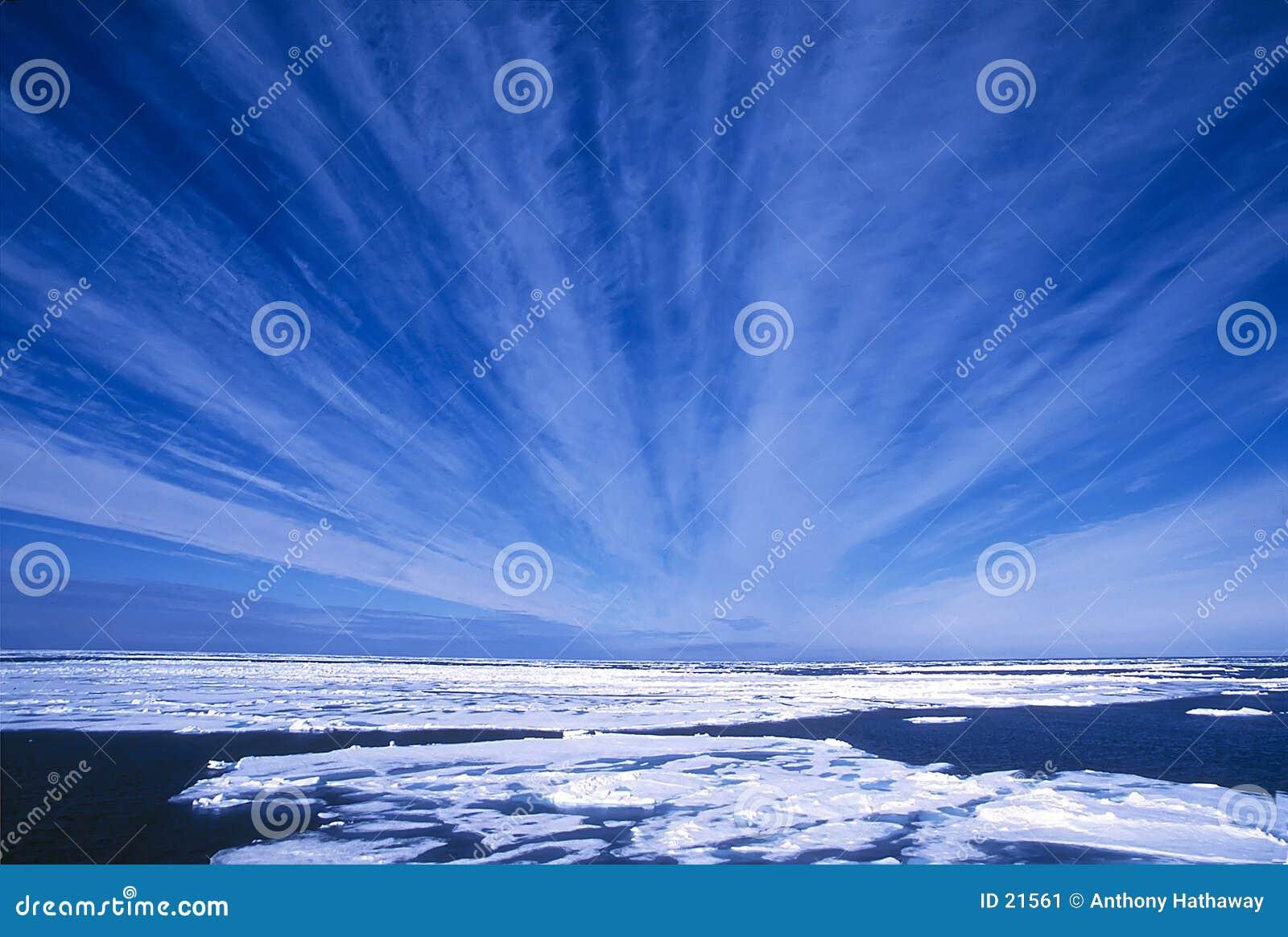 Arktische Himmel
