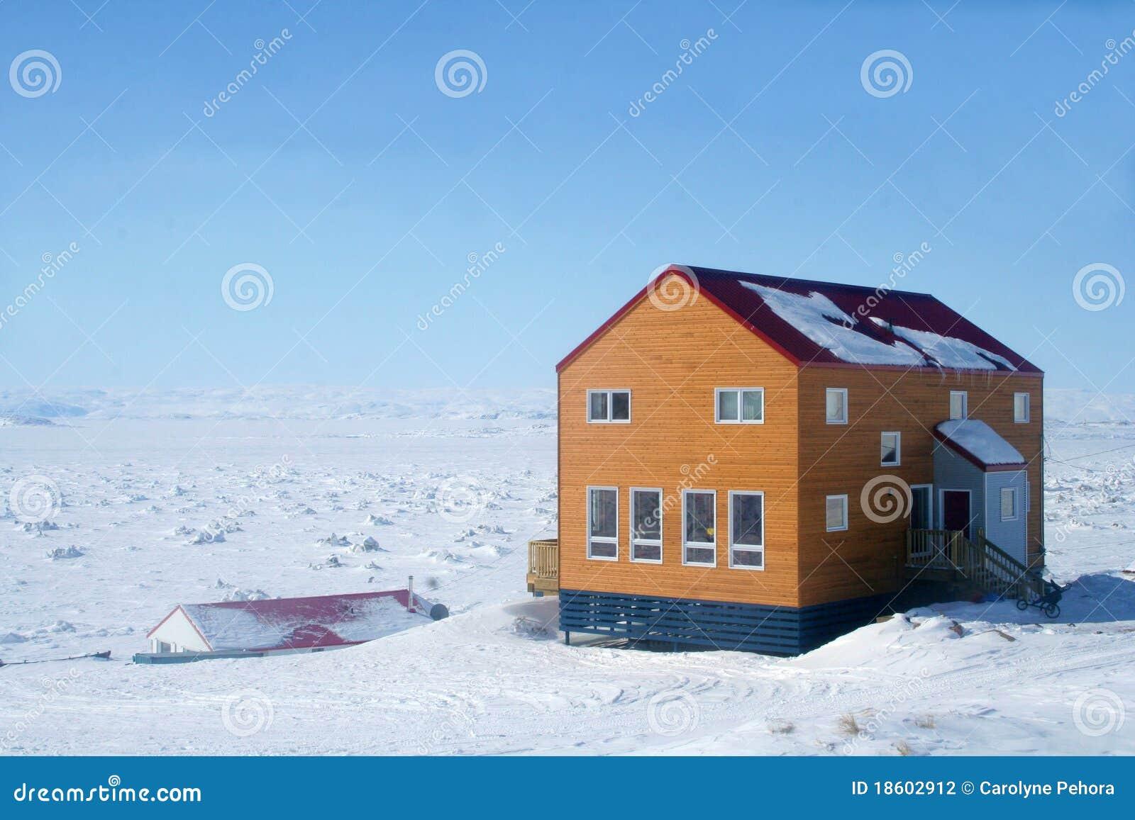 Arktiskt kanadensiskt hus
