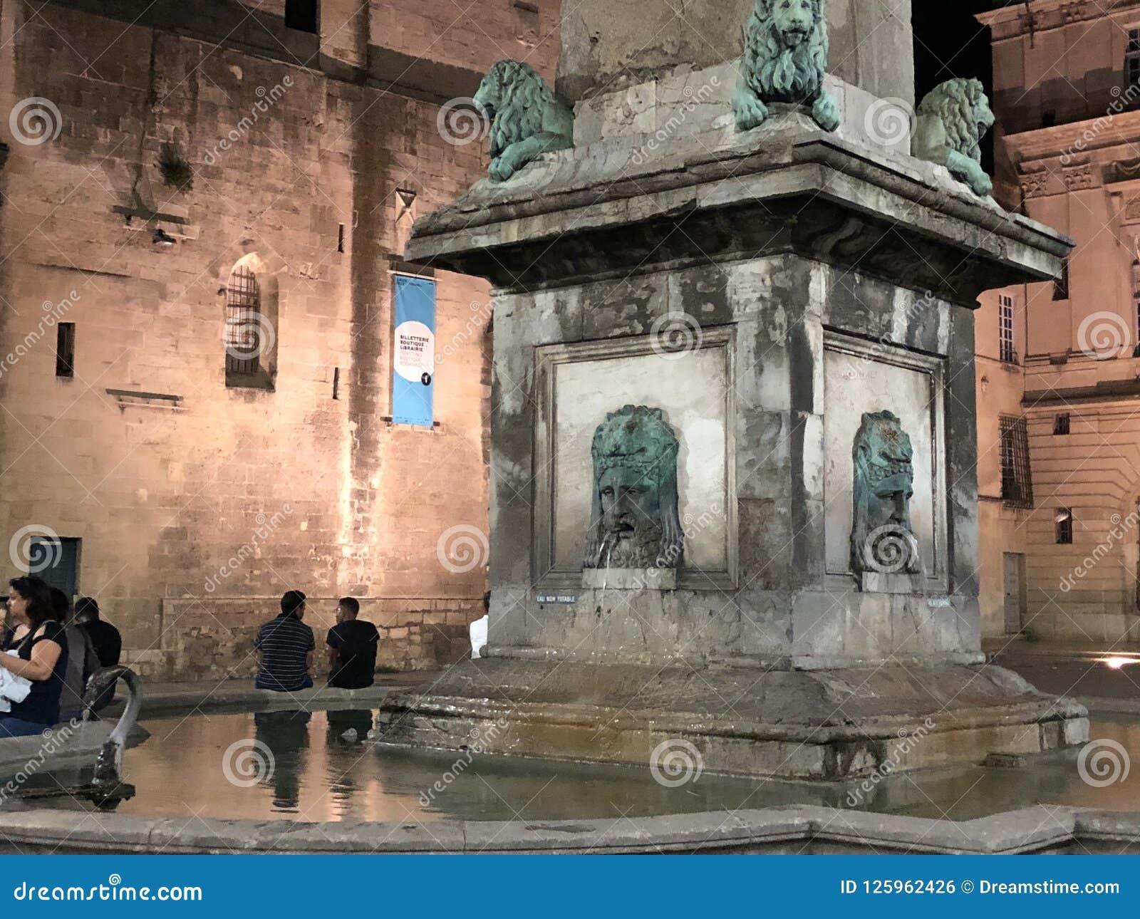 Arles'-Brunnen