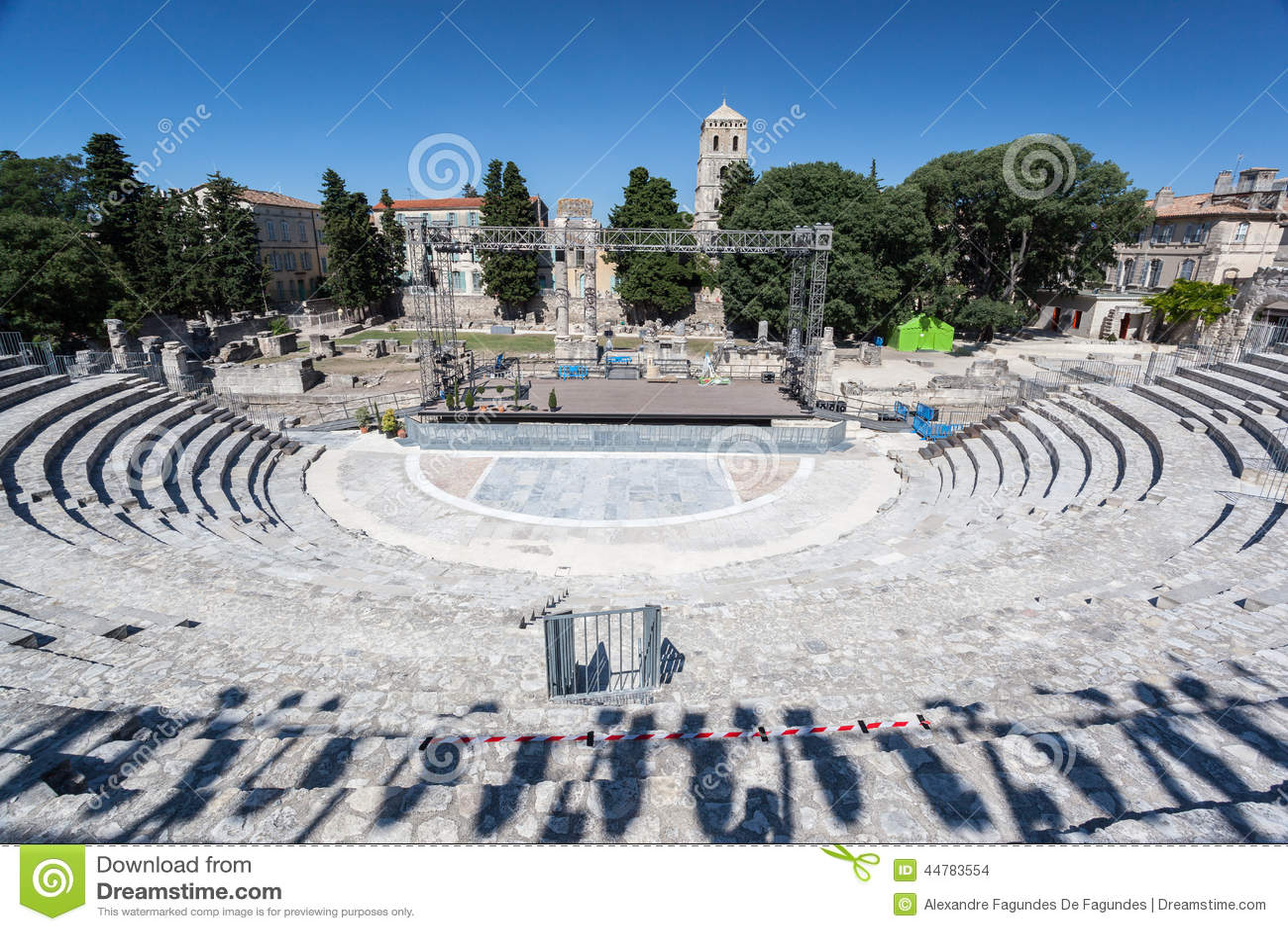 Arles Romański teatr Provence Francja