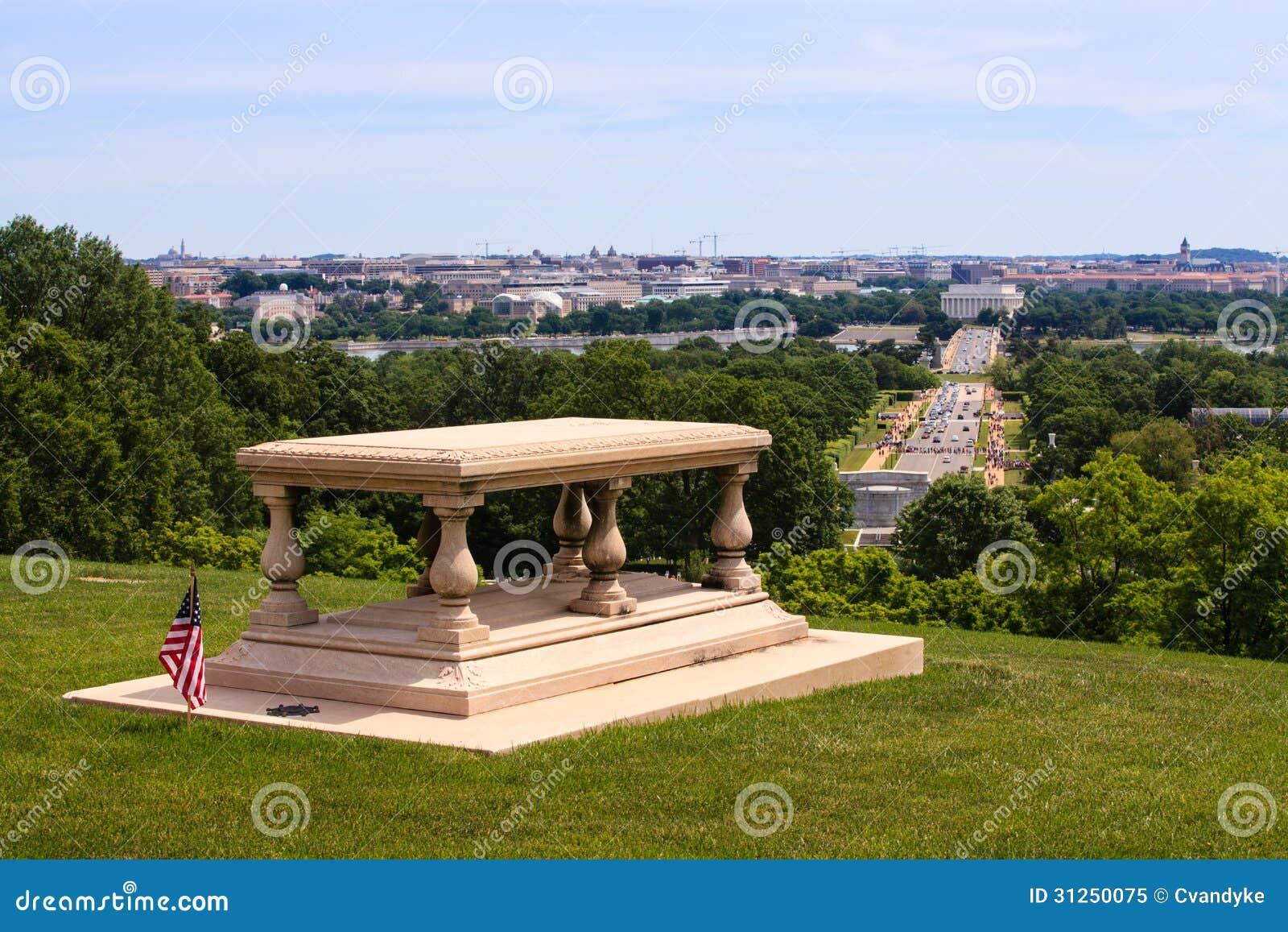 Free House Planner Arlington House Memorial View Washington Dc Royalty Free
