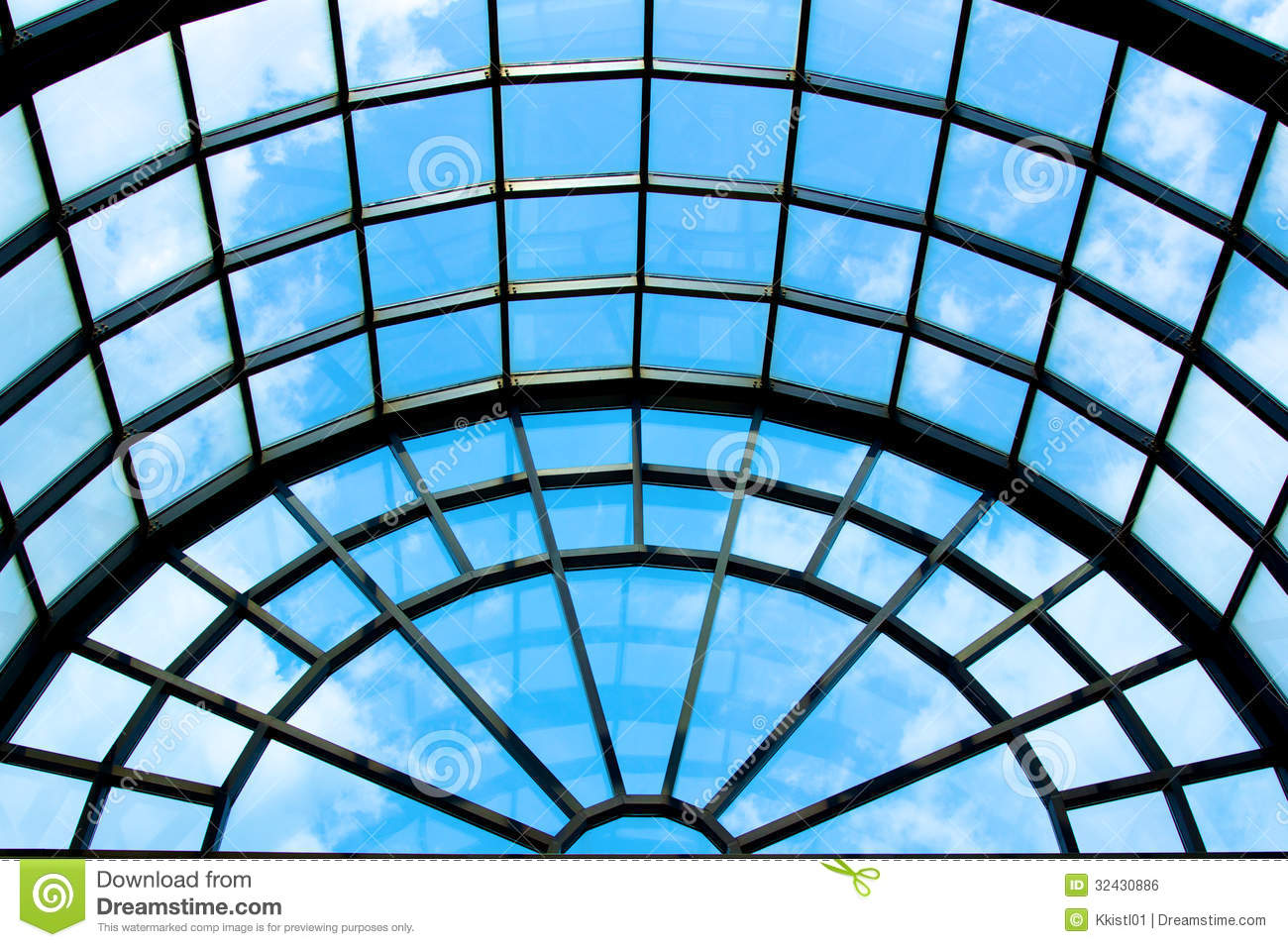 Arlington Visitor Center Roof Royalty Free Stock Image