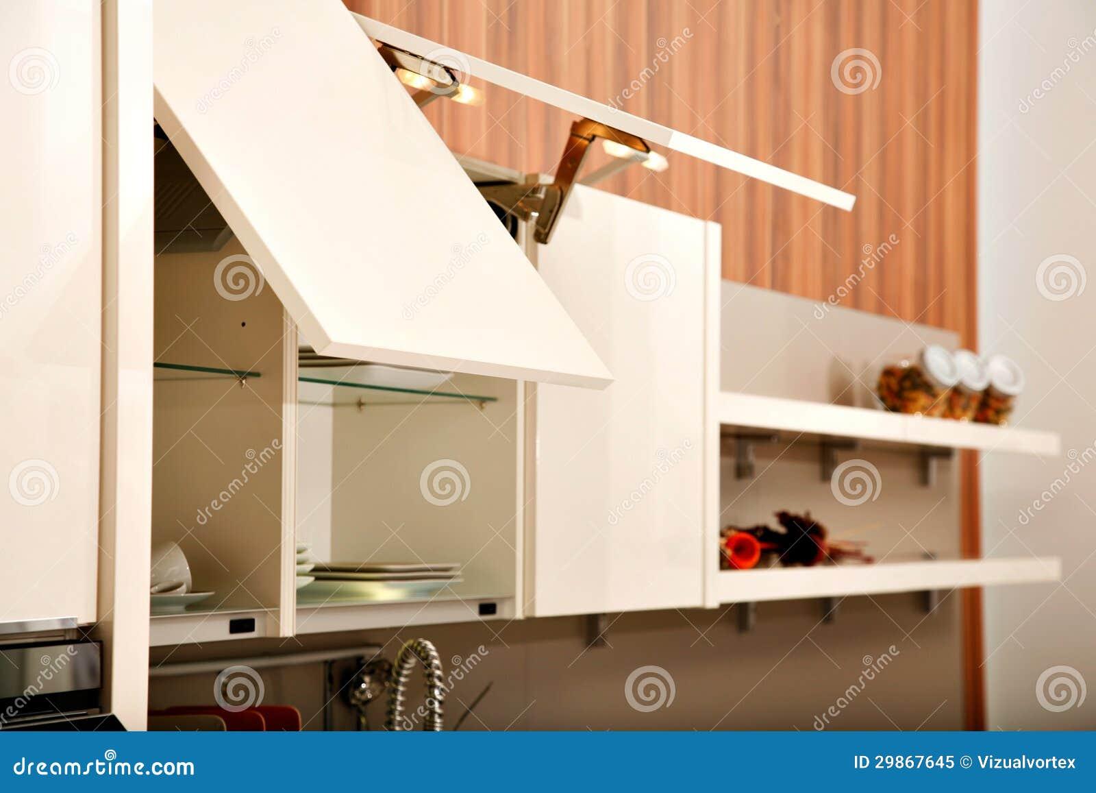 #C52206 Armários de cozinha bonitos em uma cozinha moderna. 1300x957 px Planos De Armários De Cozinha_993 Imagens
