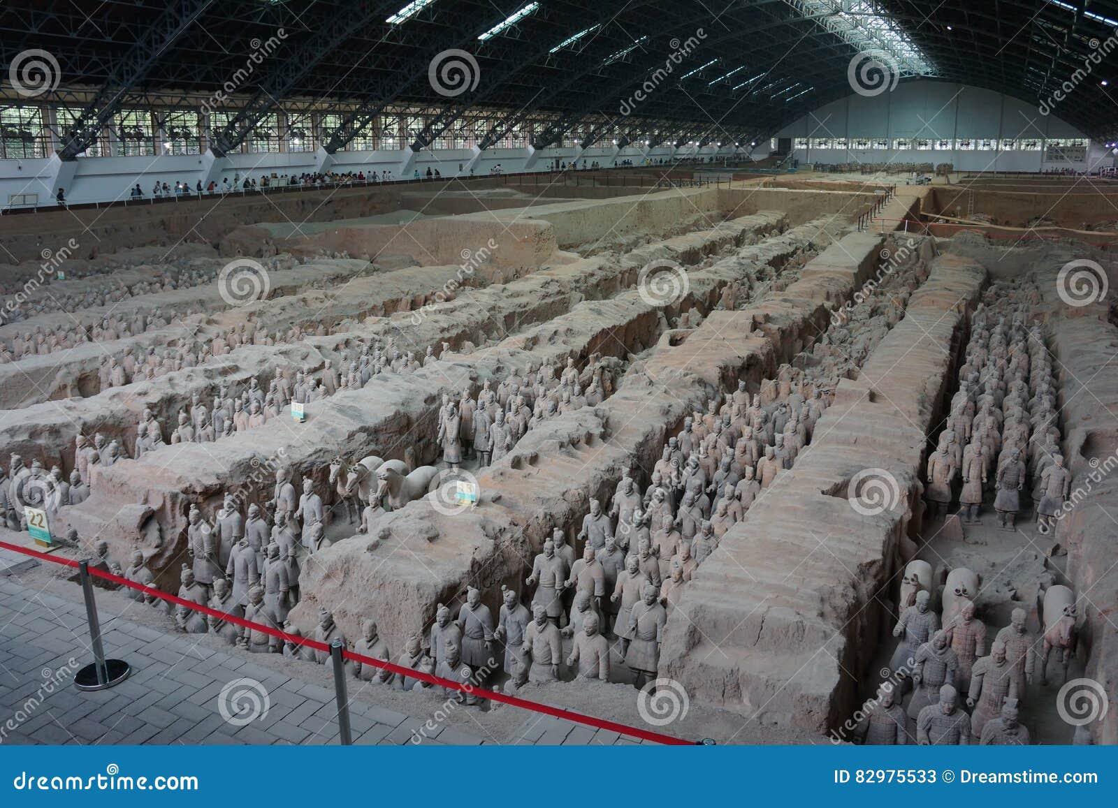 Armée de terre cuite, Xian China